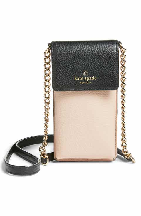 kate spade new york leather smartphone crossbody bag (Nordstrom Exclusive)