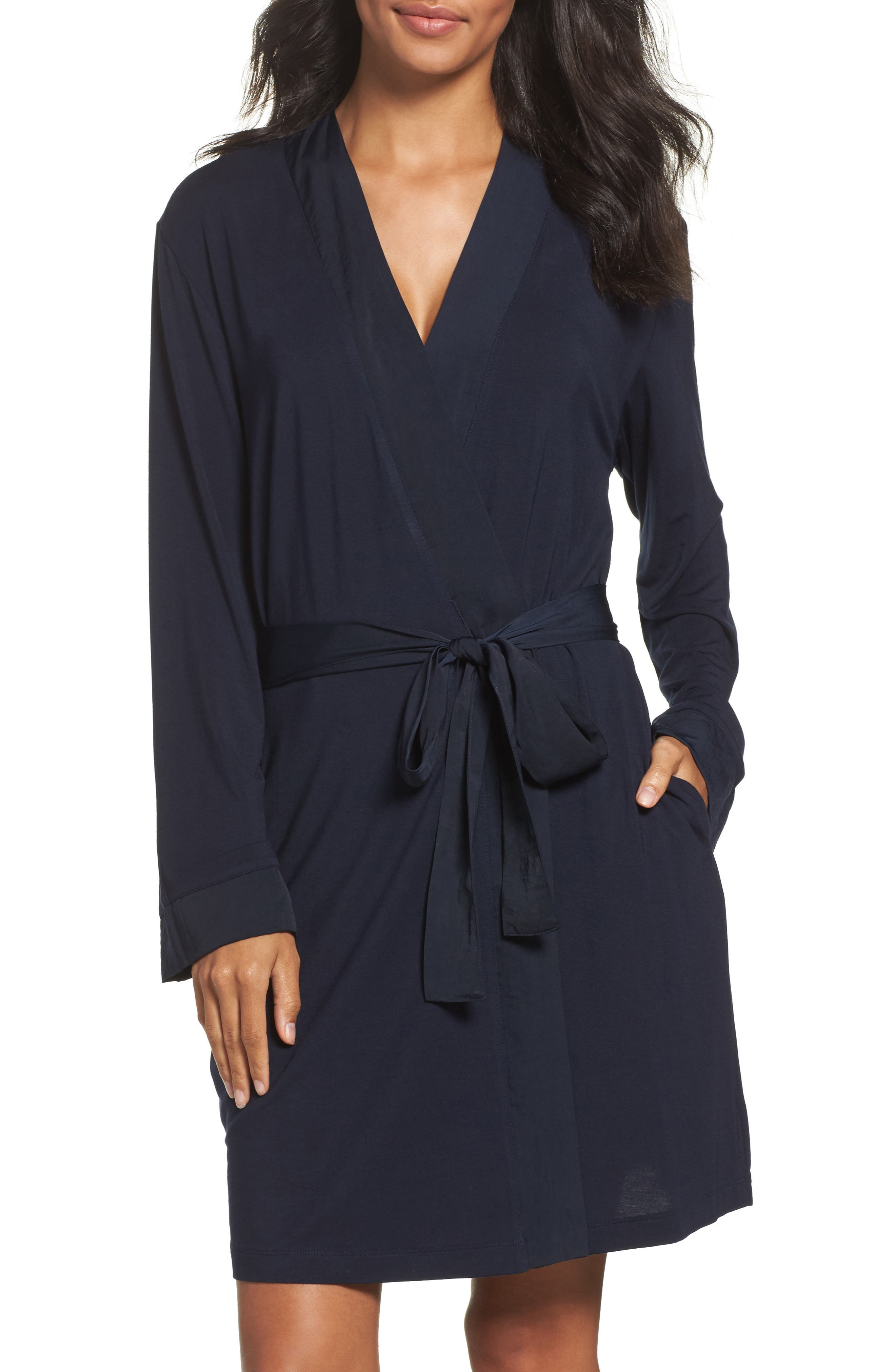 Midnight by Carole Hochman Short Robe