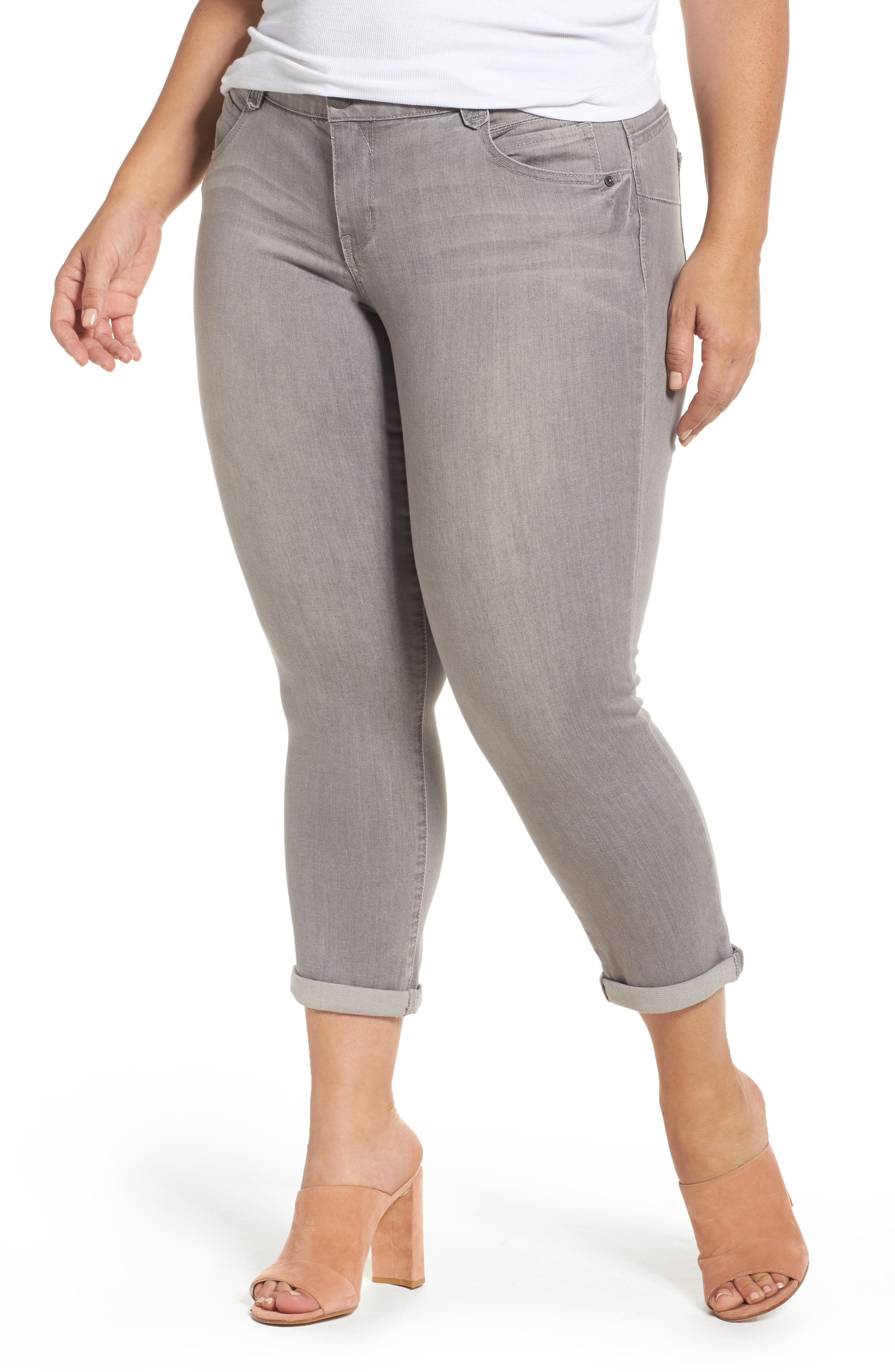 Democracy Ab-Solution Ankle Skimmer Jeans (Plus Size)