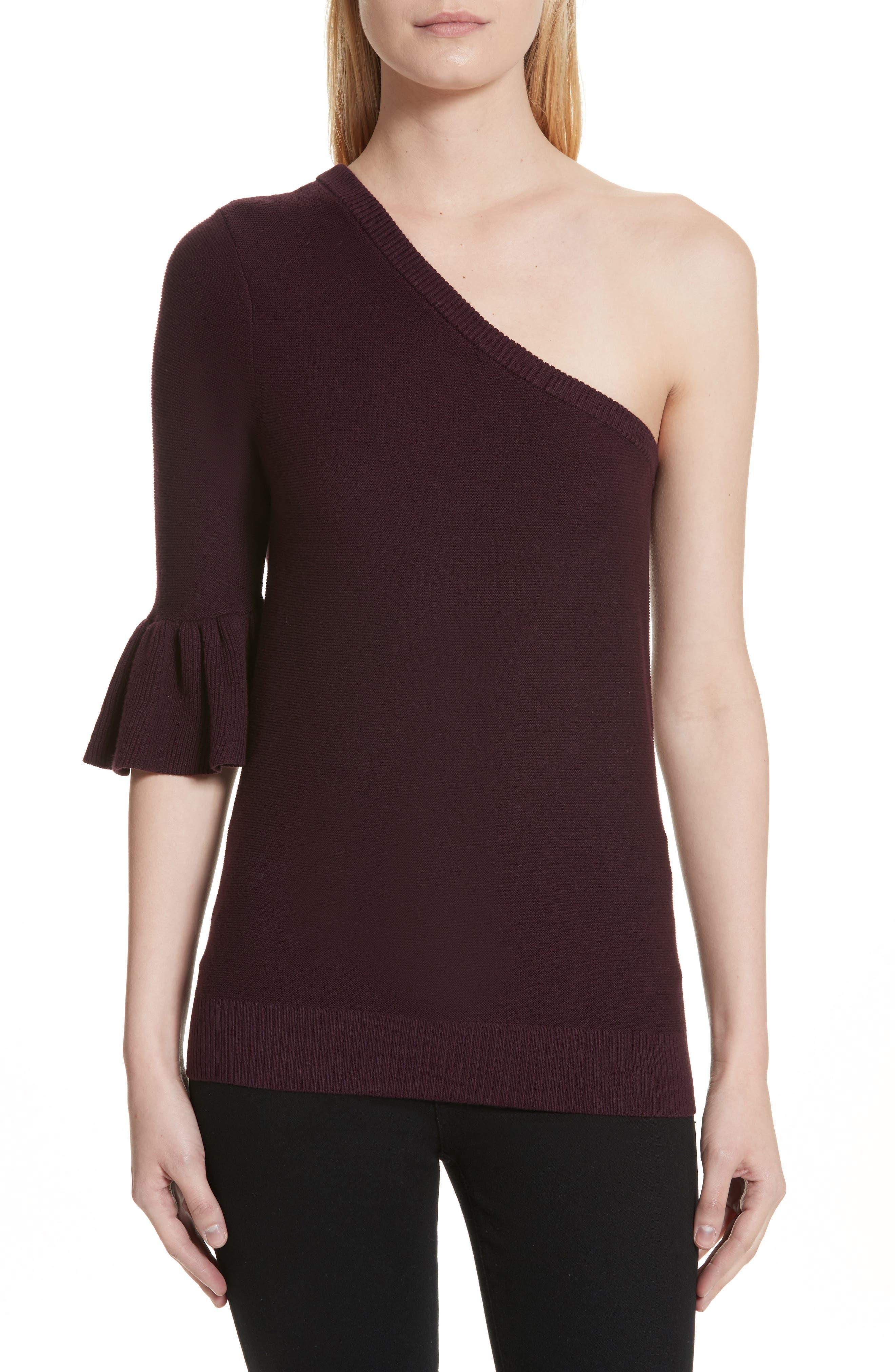Rebecca Minkoff Wappo One-Shoulder Sweater