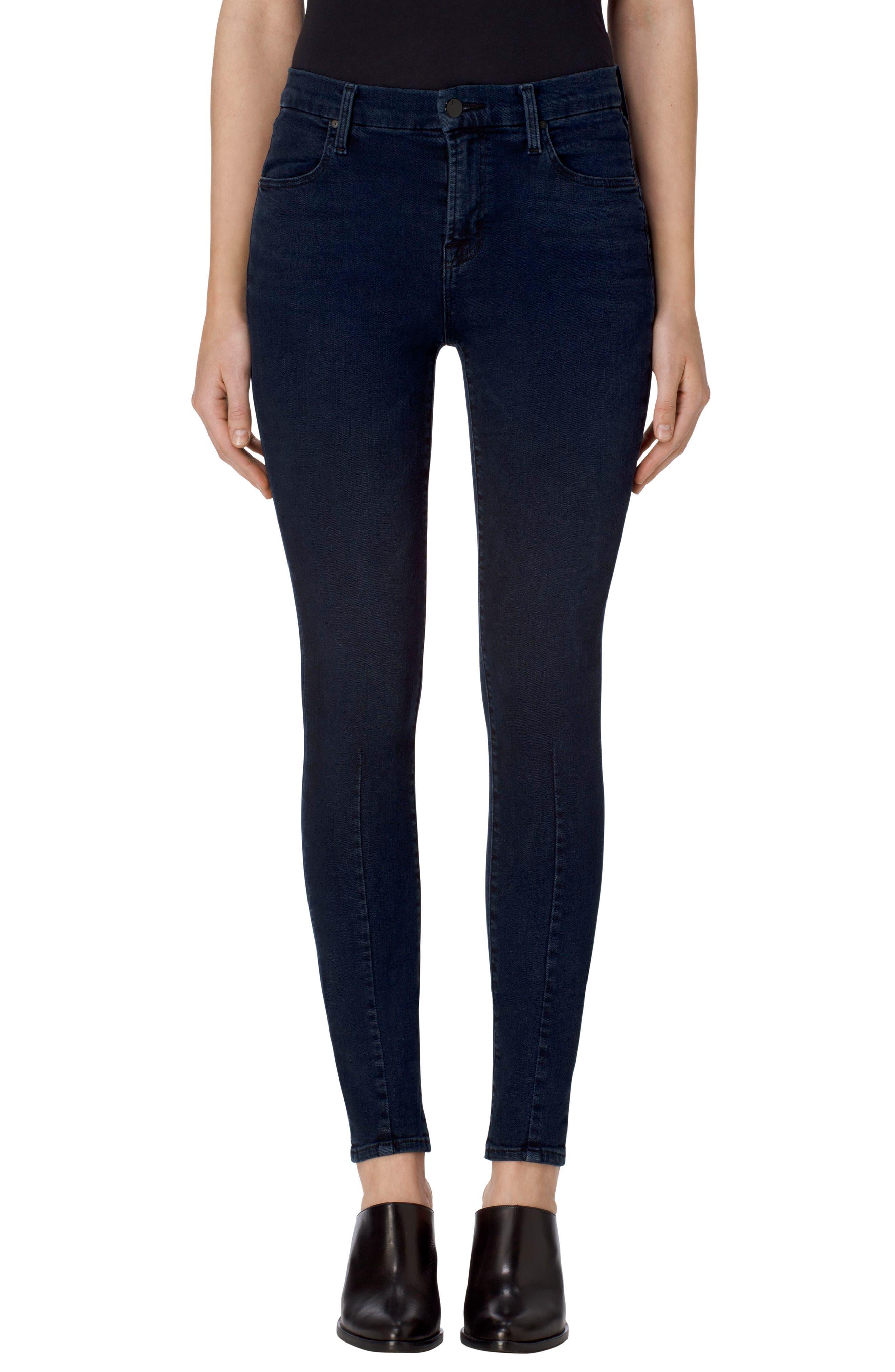 J Brand Maria High Waist Skinny Jeans (Indigo Ingenious)