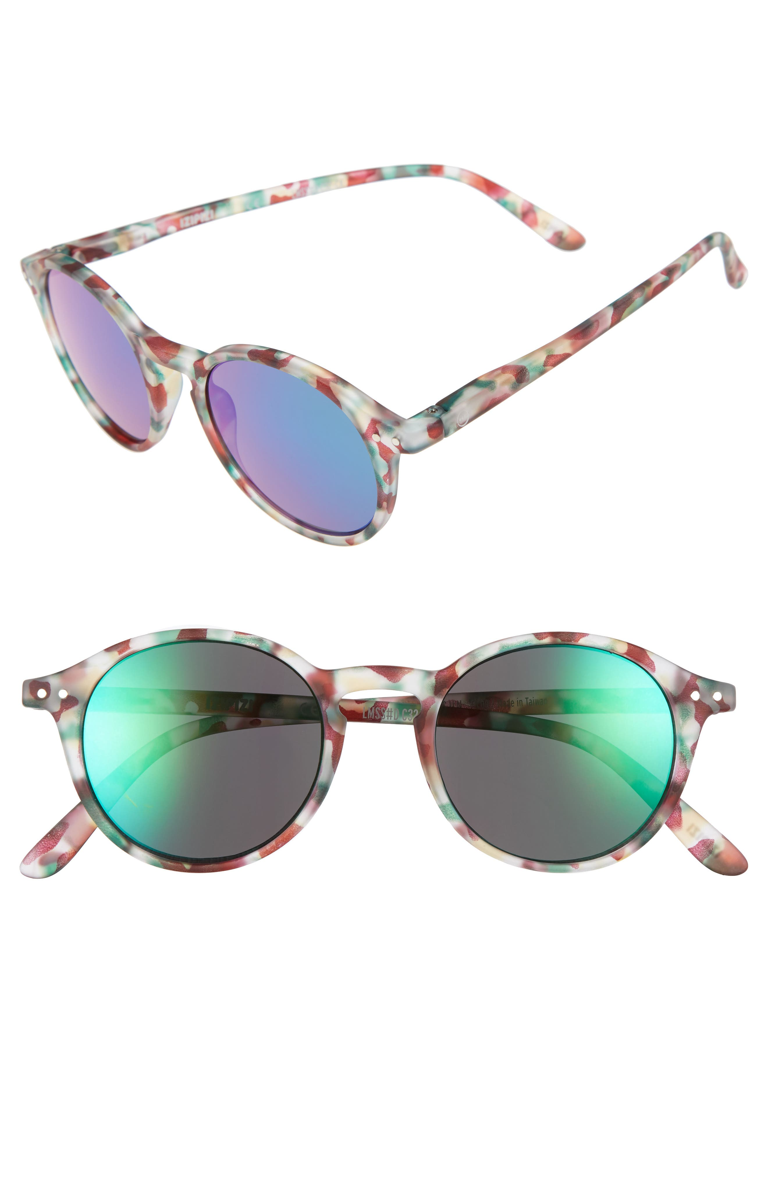 Izipizi 46mm Mirrored Sunglasses