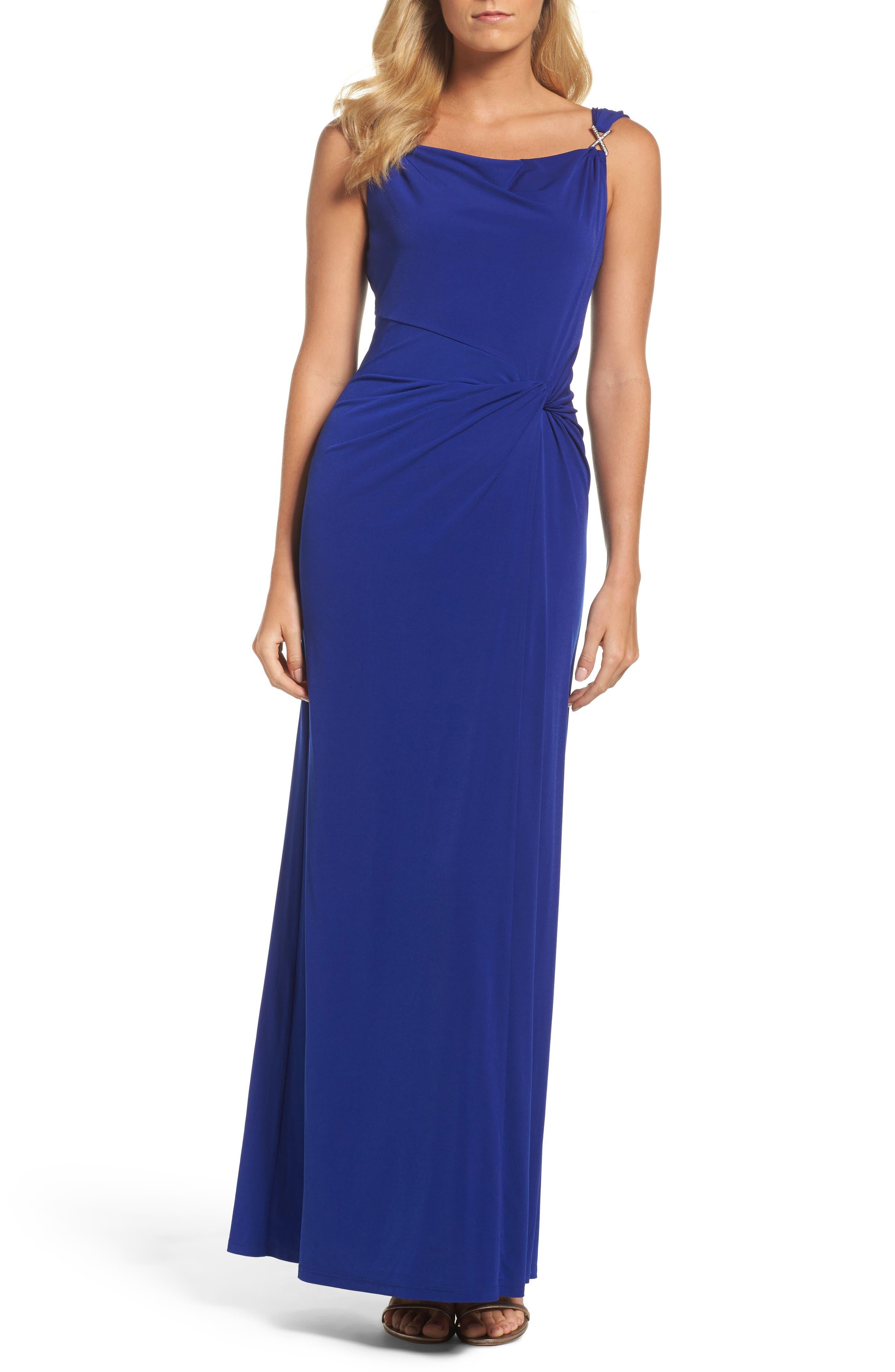 Ellen Tracy Jersey Gown