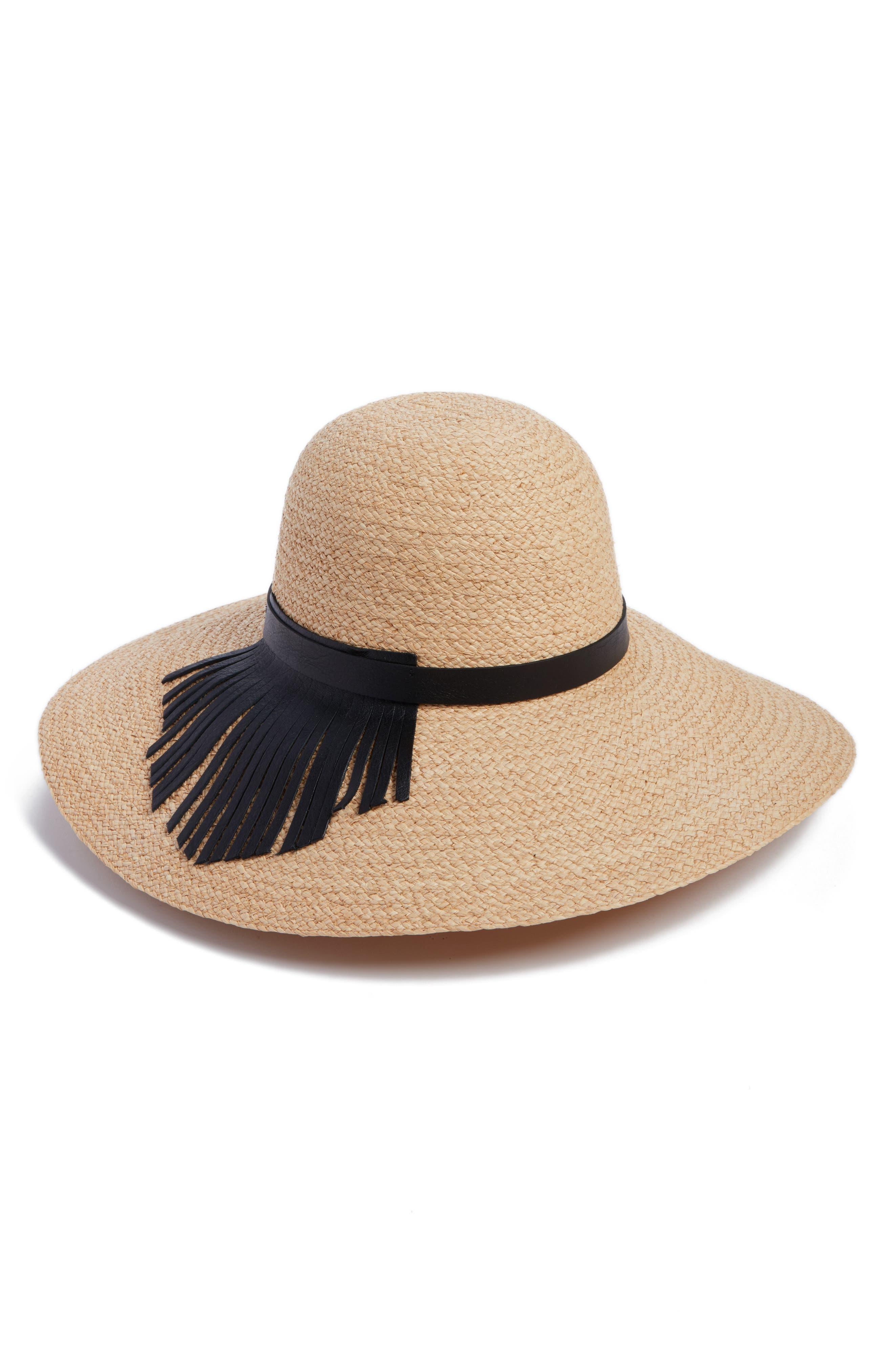 Helen Kaminski Nereda Wide Brim Raffia Straw Hat