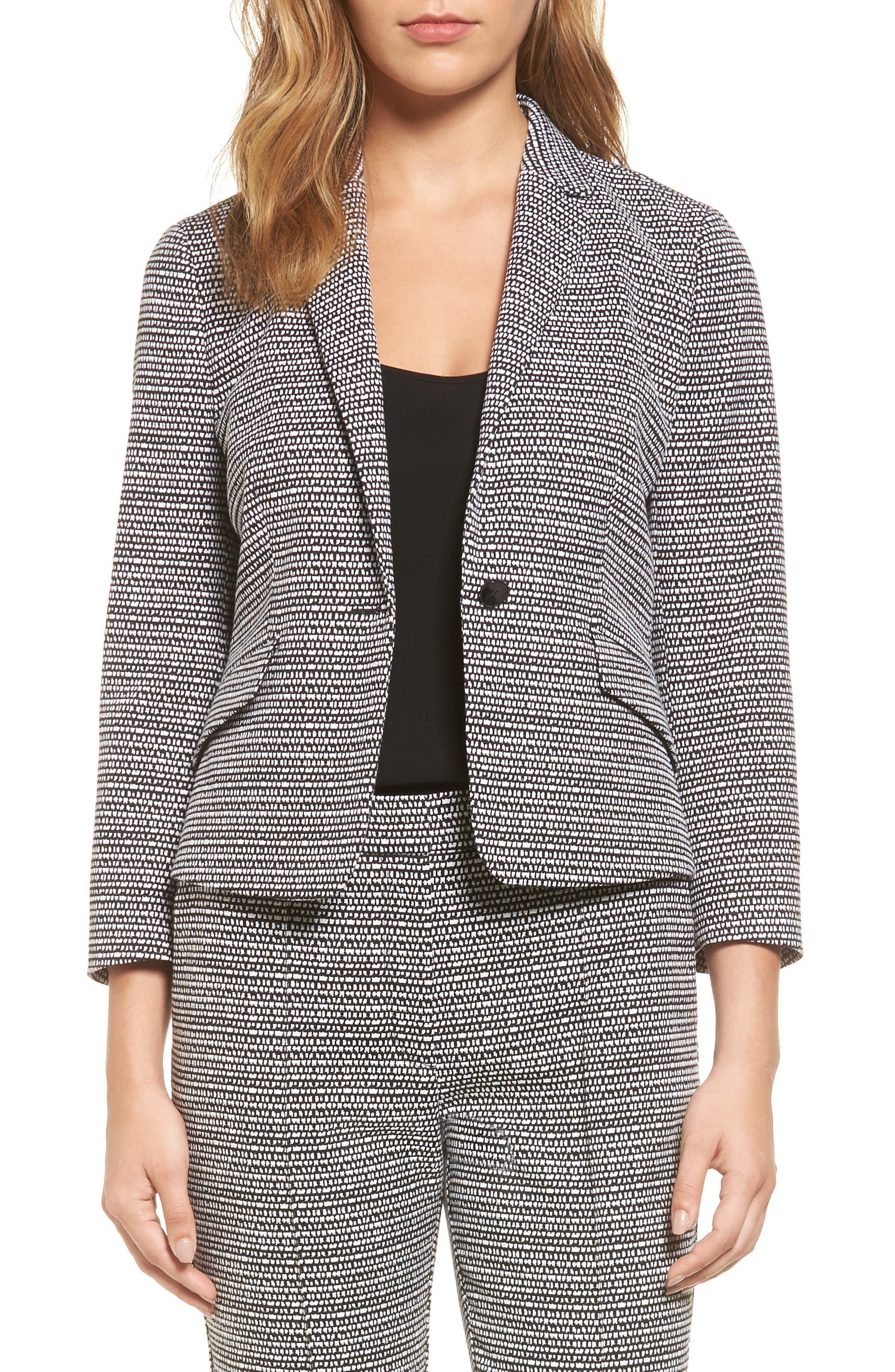 BOSS Katemika Jacquard Suit Jacket