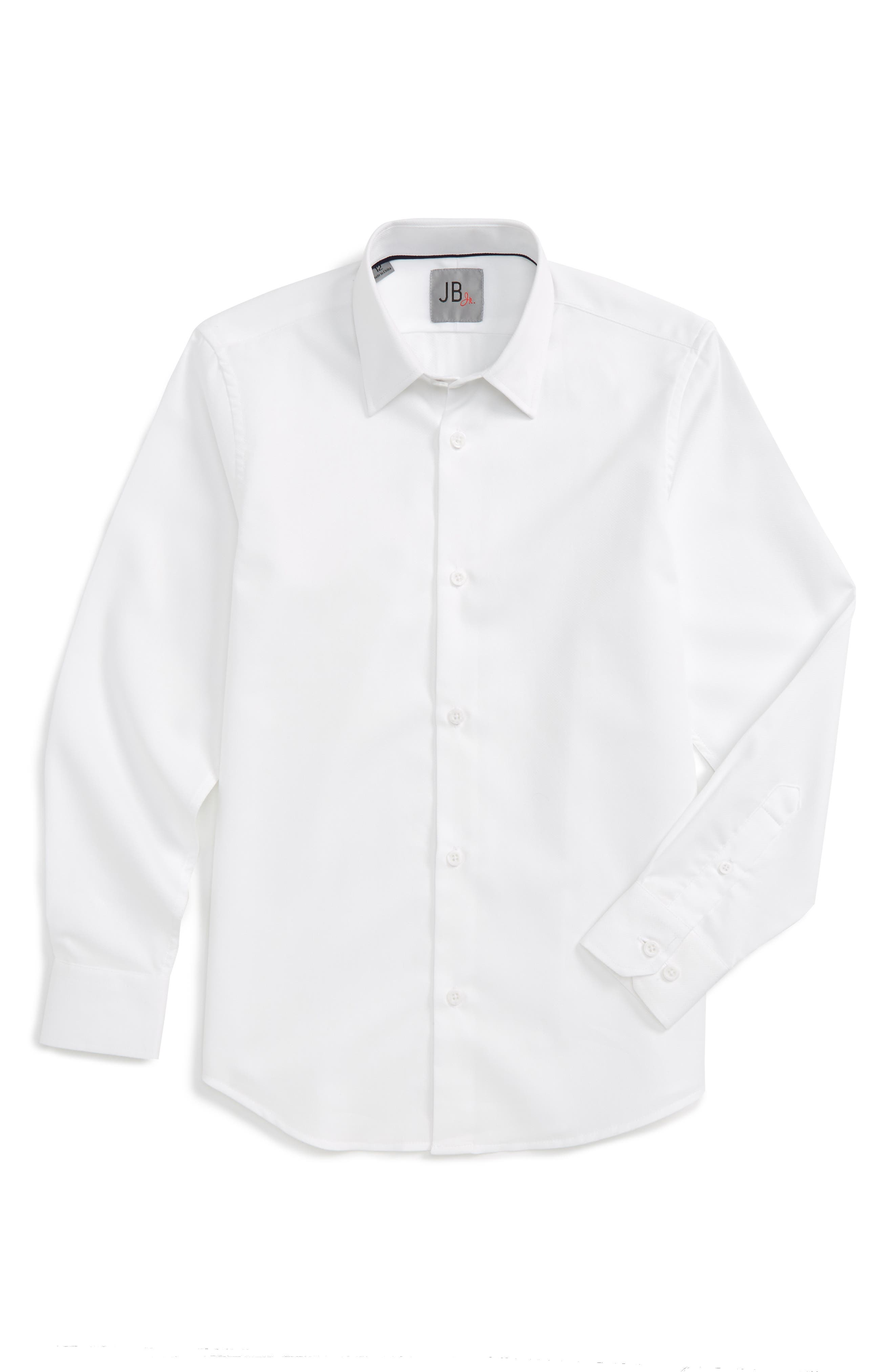 JB Jr Textured Dress Shirt (Big Boys)