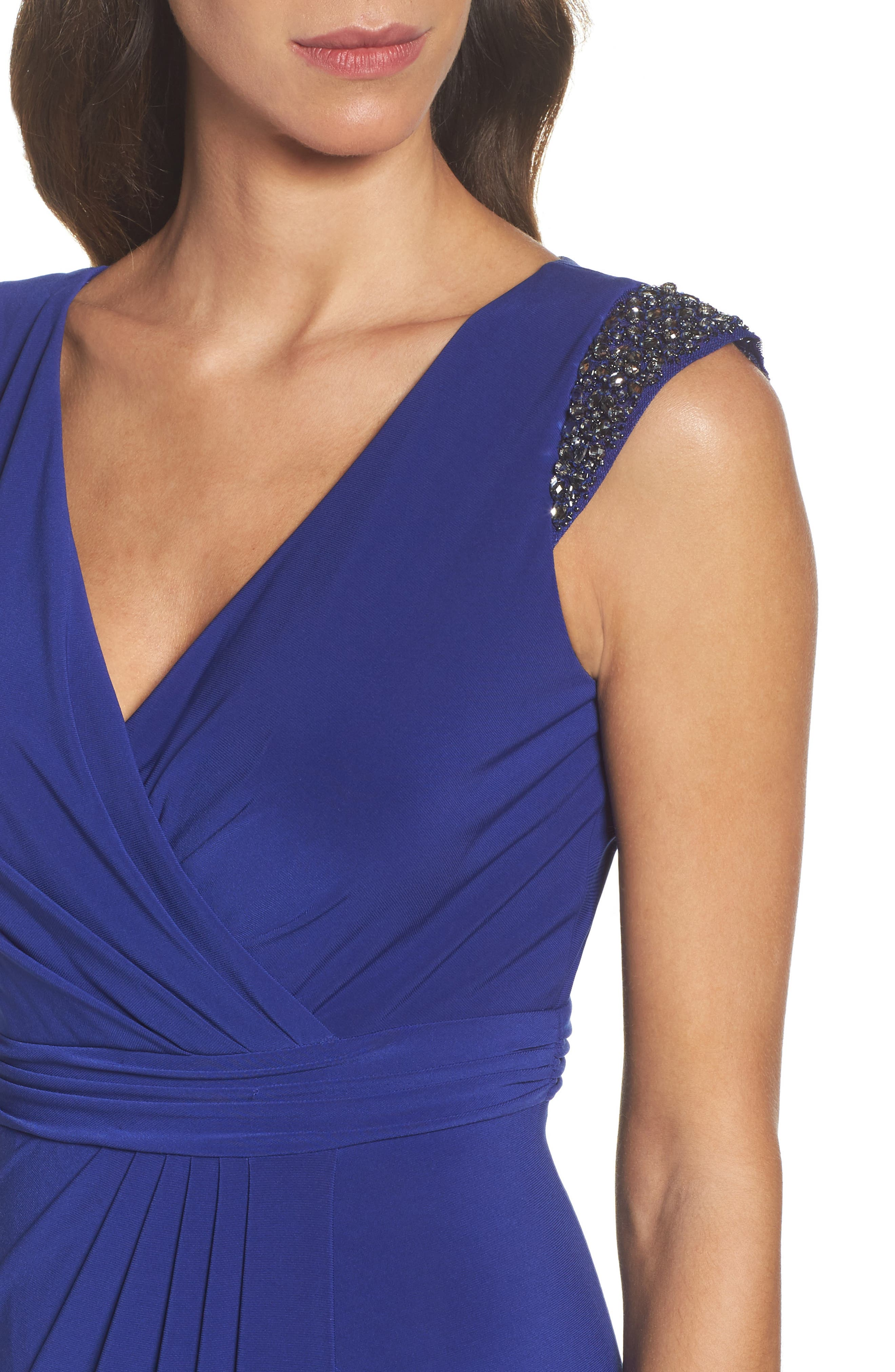 Alternate Image 4  - Adrianna Papell Jersey Gown