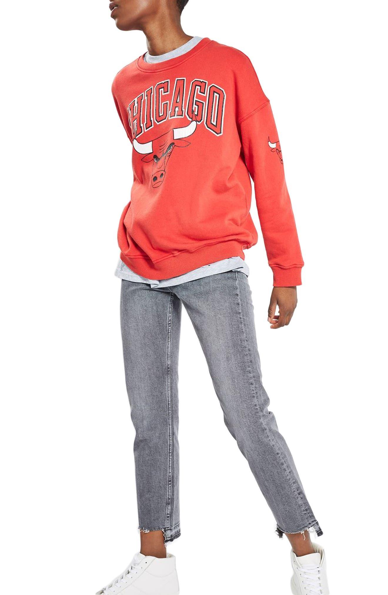 Topshop by UNK Chicago Bulls Sweatshirt