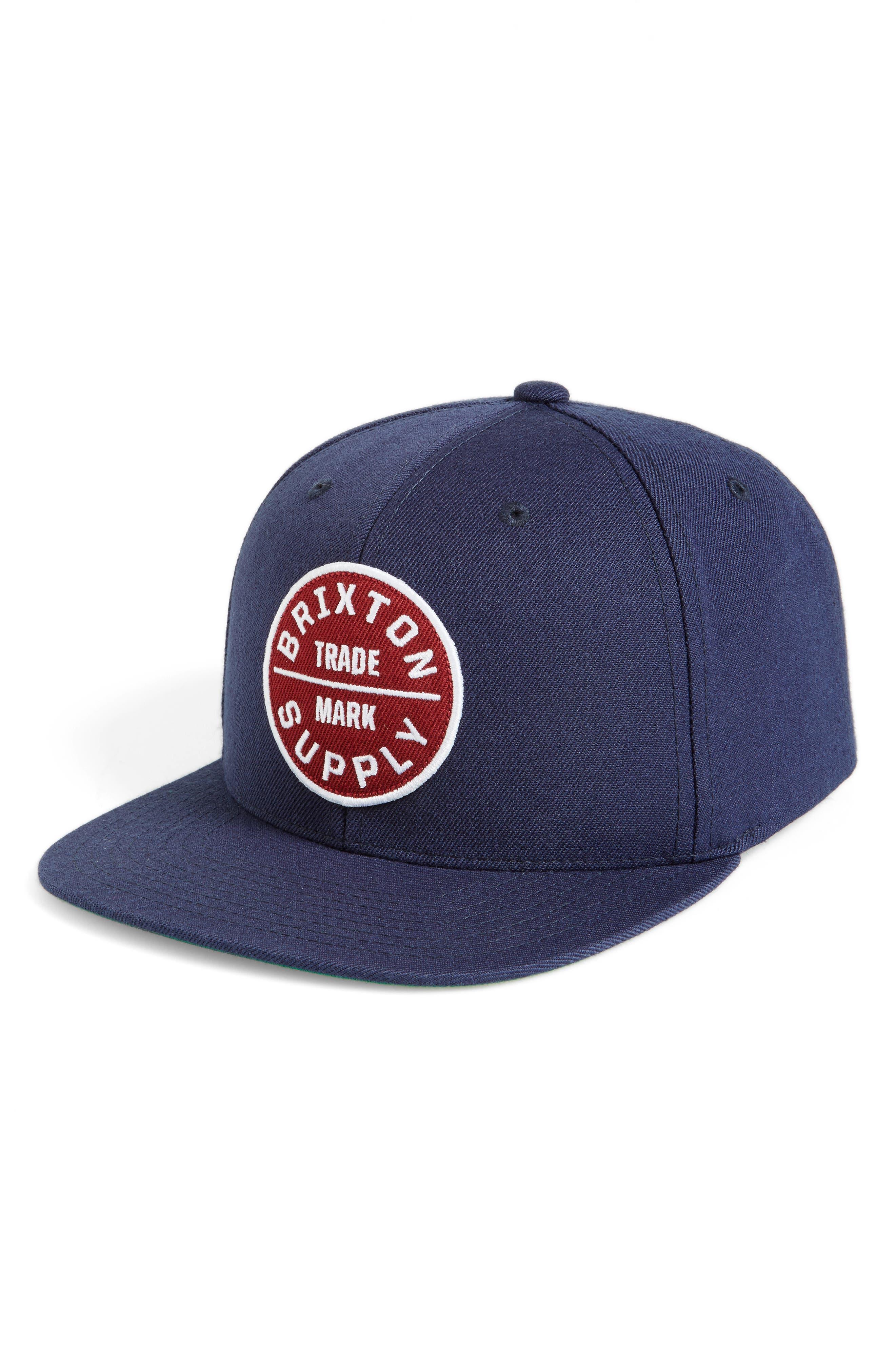 Brixton Oath III Snapback Baseball Cap