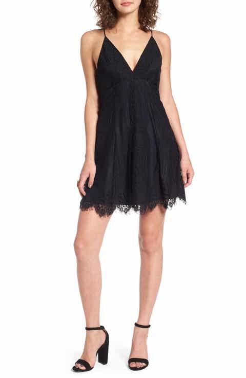 Lush Lace Fit   Flare Dress