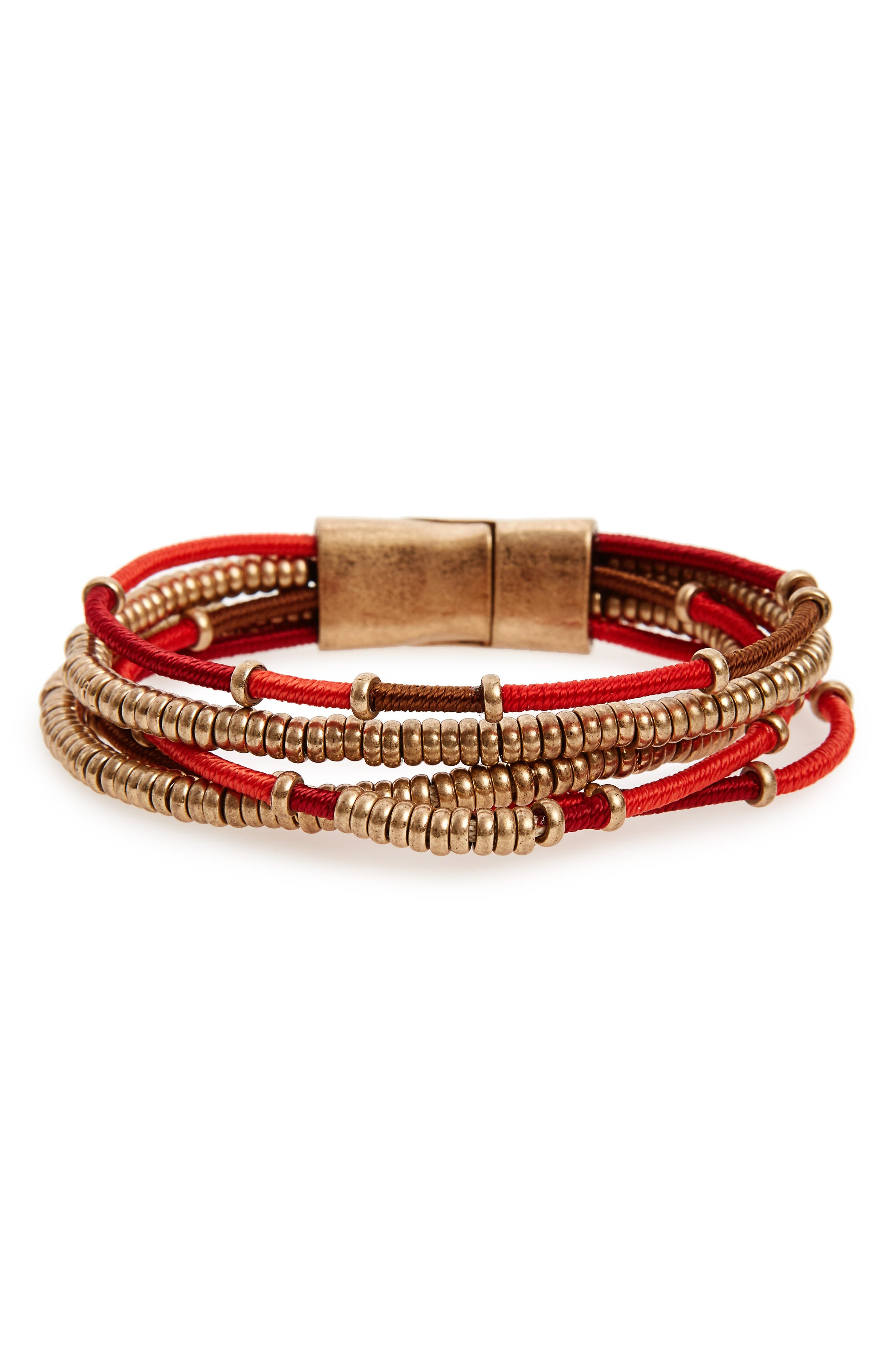 Treasure & Bond Multistrand Bracelet