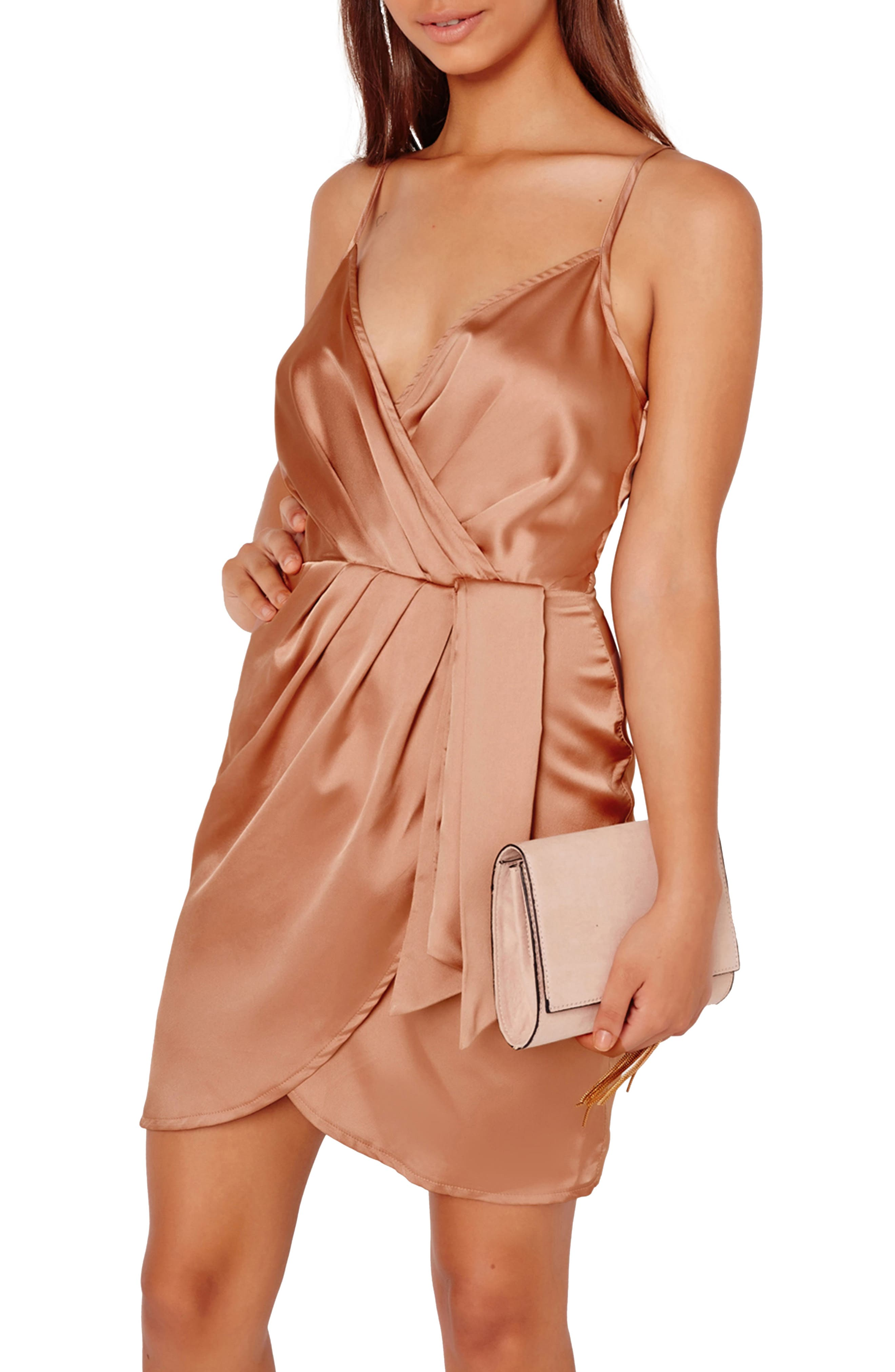 Missguided Satin Minidress
