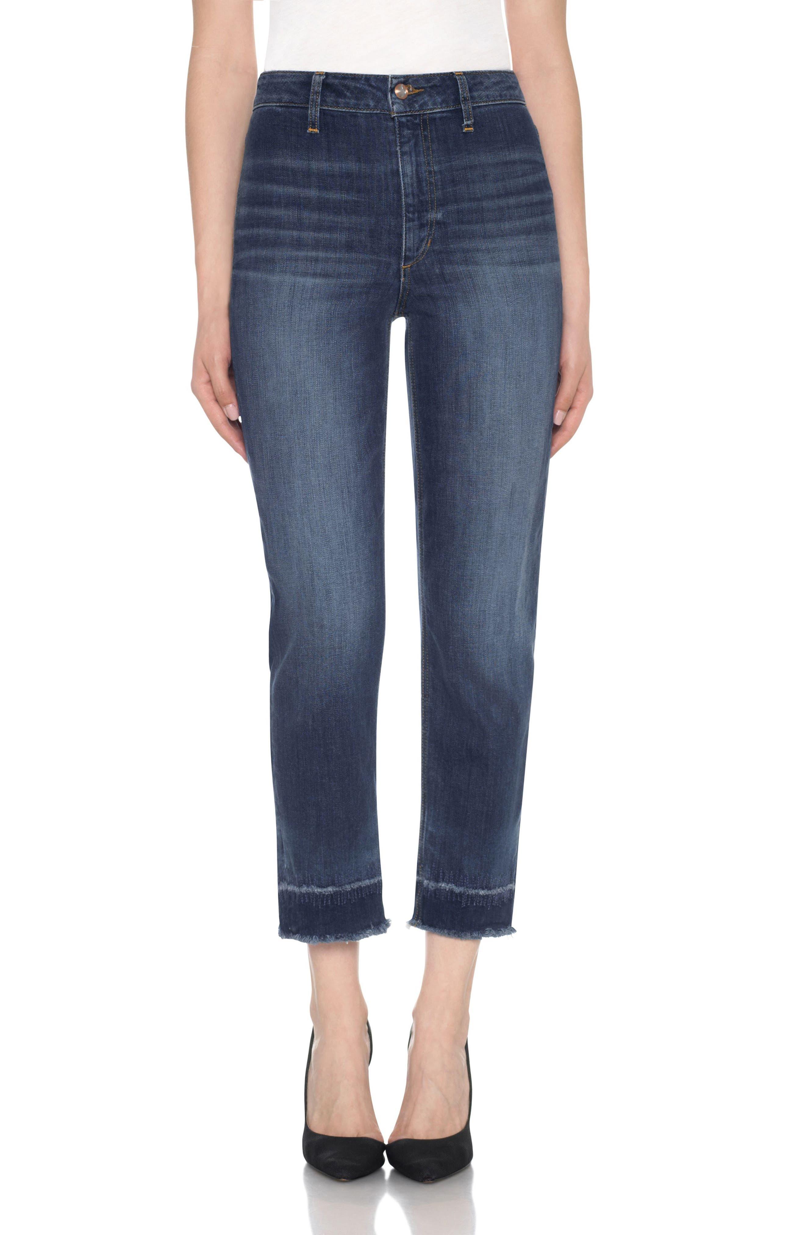 Joe's The Jane High Waist Crop Jeans (Aleja)