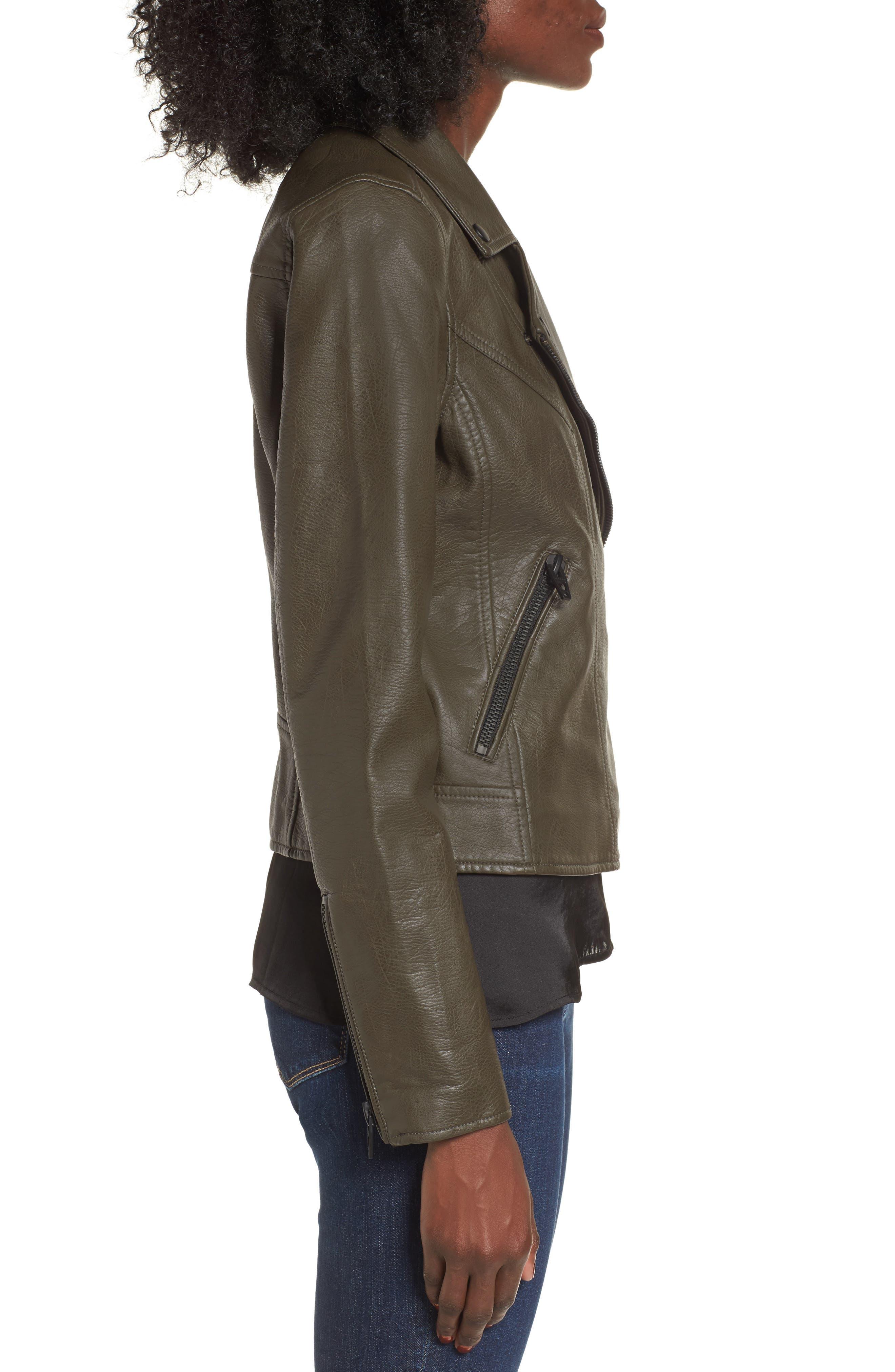 Alternate Image 3  - BLANKNYC Life Changer Moto Jacket