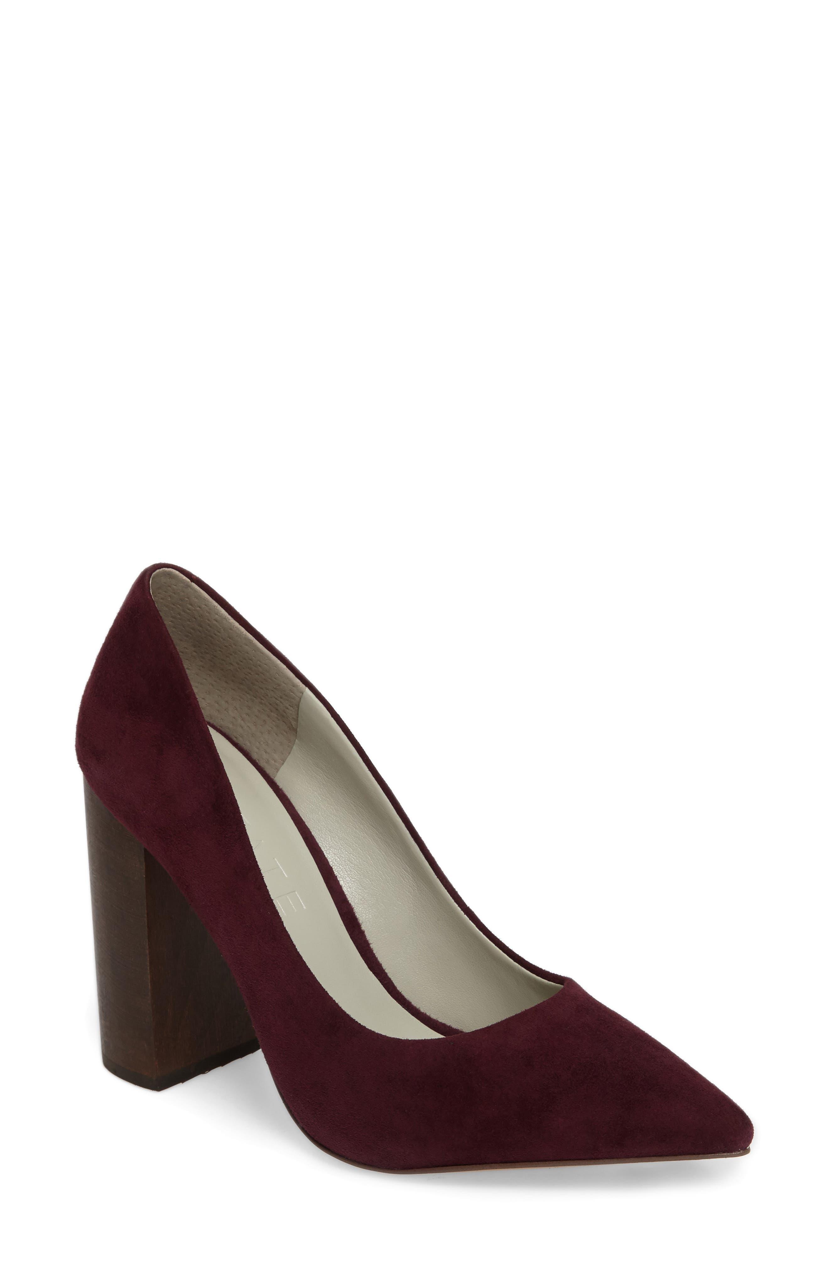 1.STATE Valencia Block Heel Pump (Women)