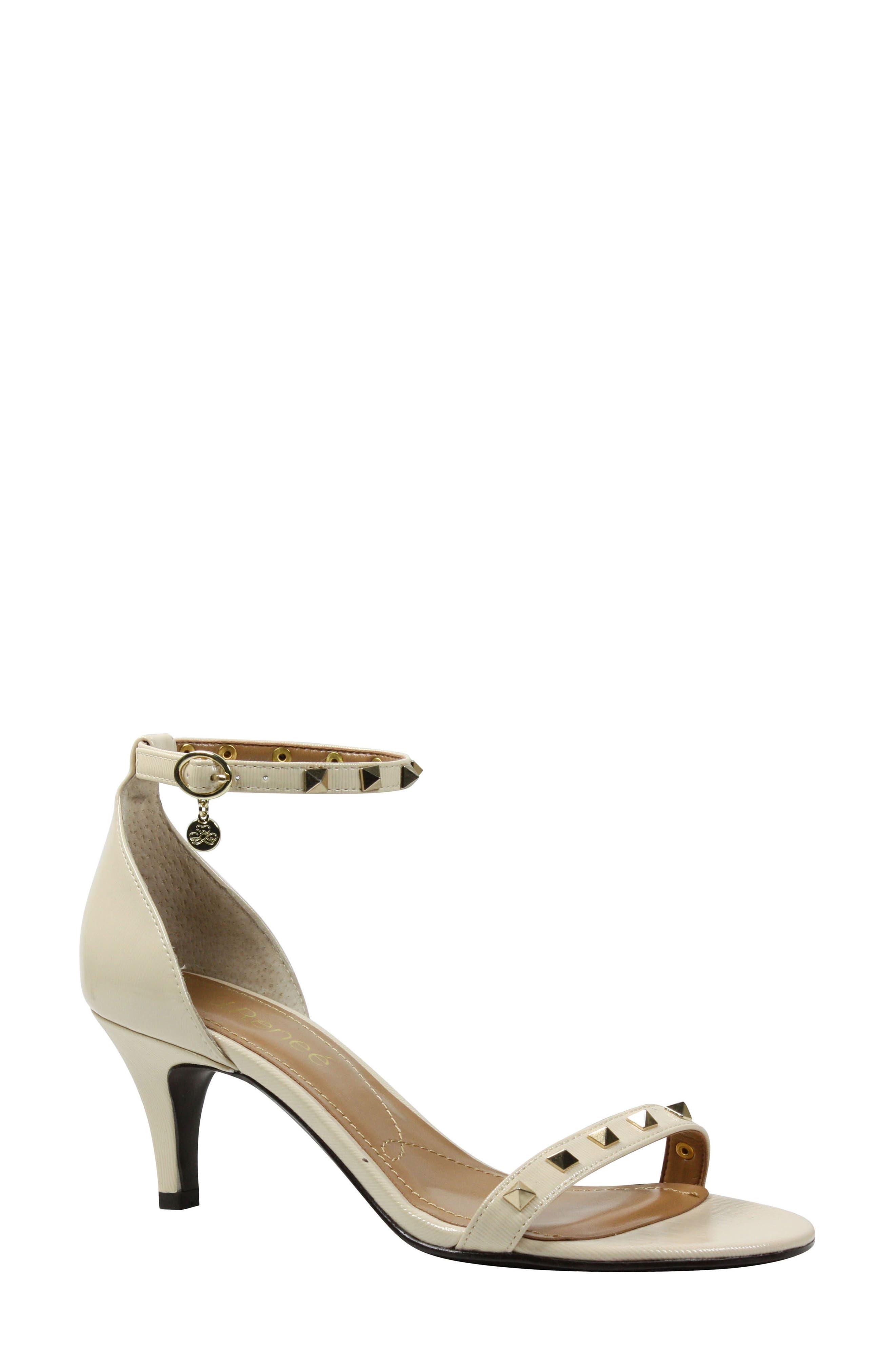 J. Reneé Lerida Studded Ankle Strap Sandal (Women)