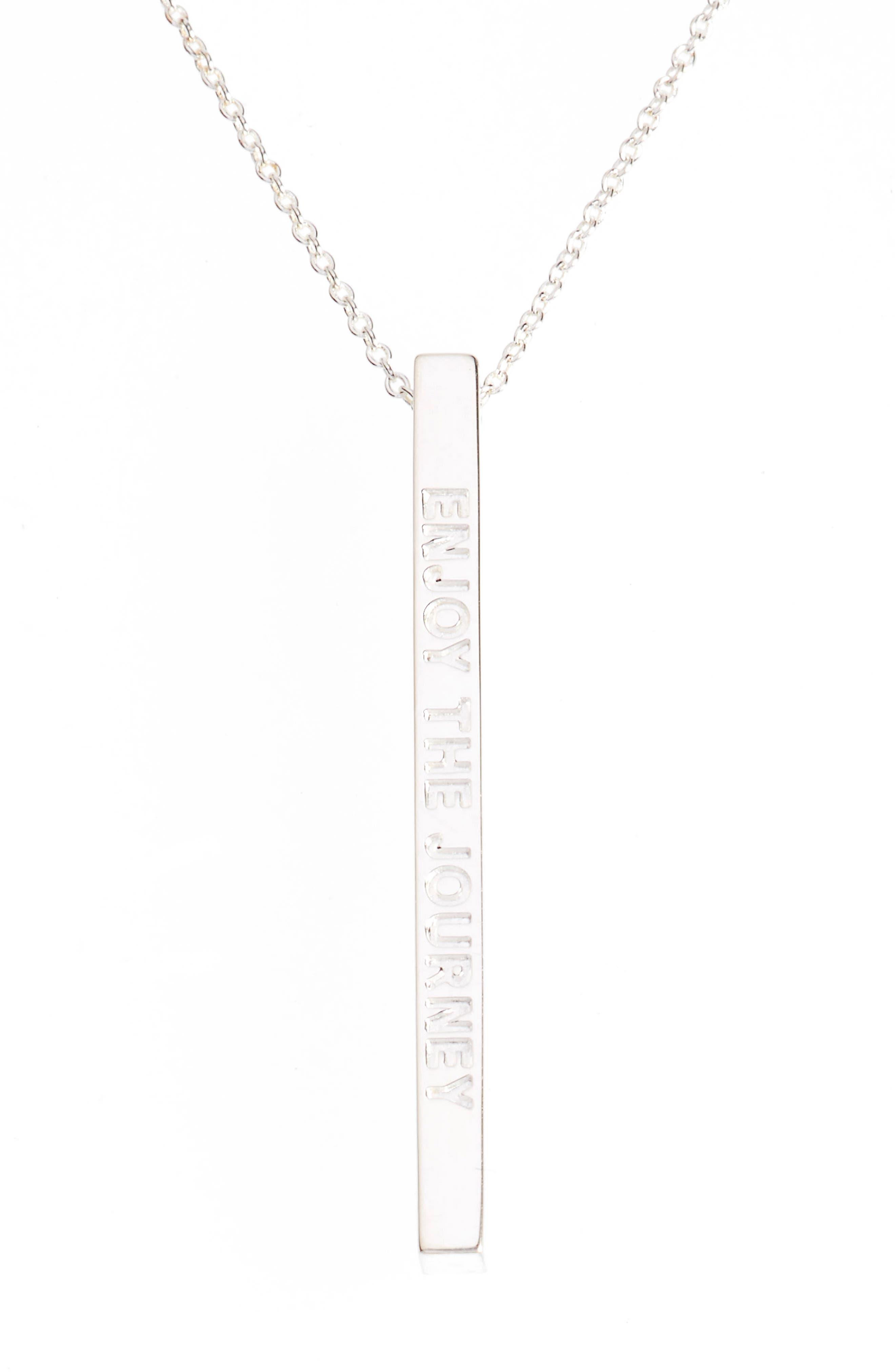 MantraBand® Enjoy the Journey Pendant Necklace