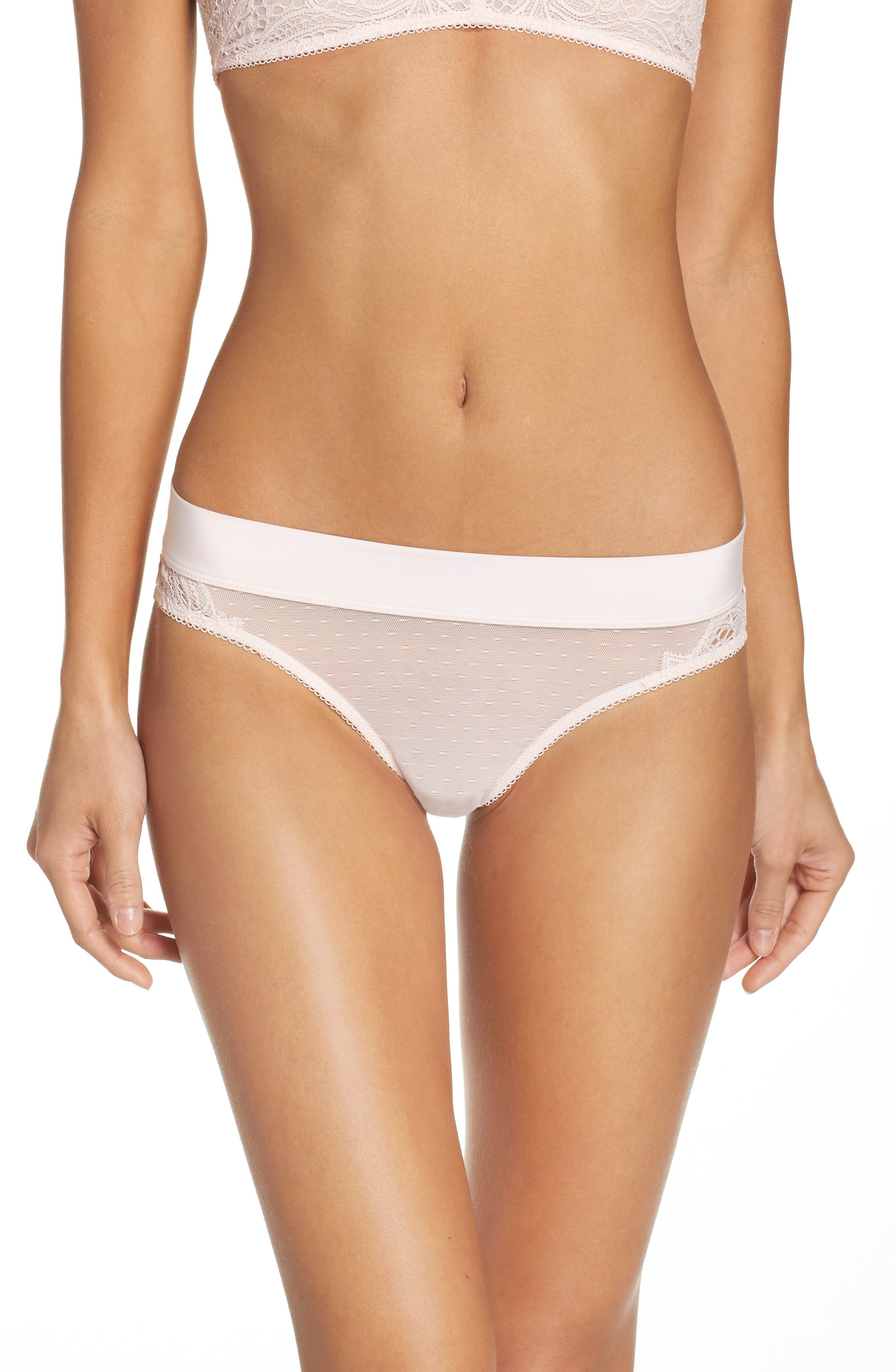 Honeydew Intimates Lace & Mesh Bikini