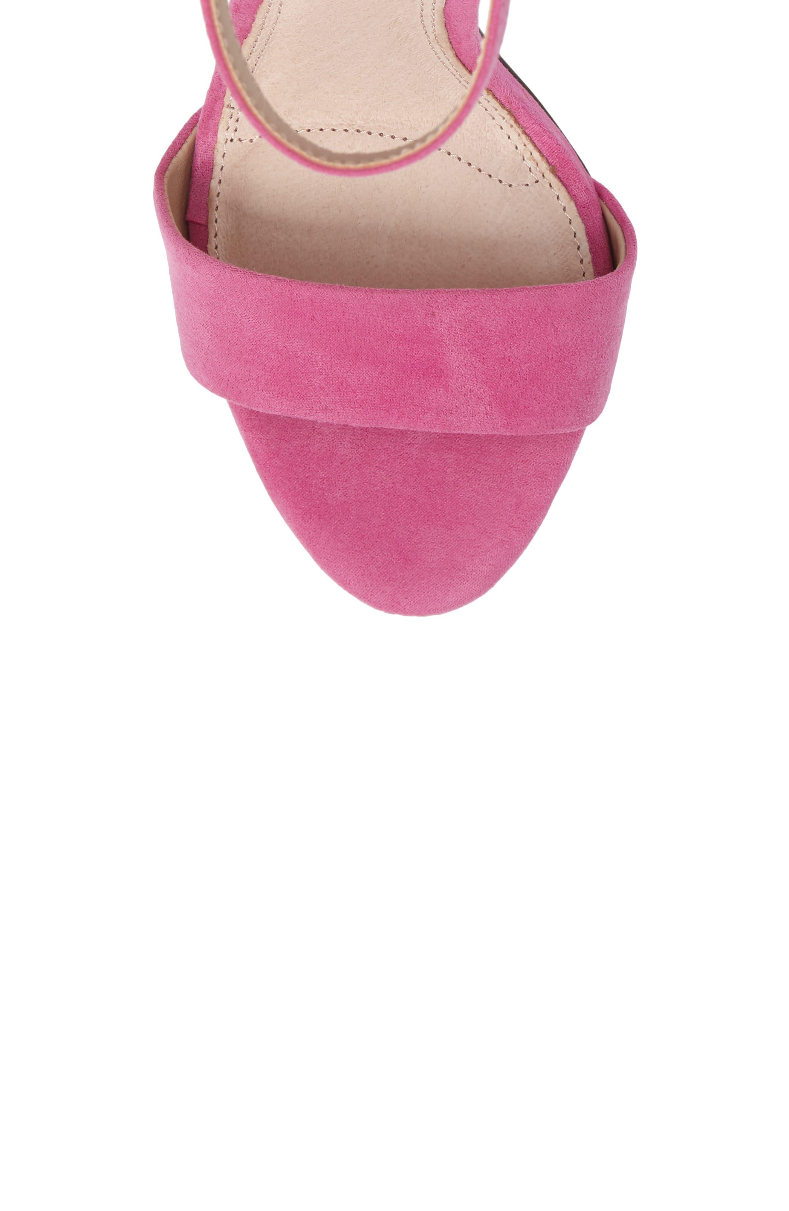 Alternate Image 5  - Topshop Raphael New Genuine Calf Hair Sandal (Women)