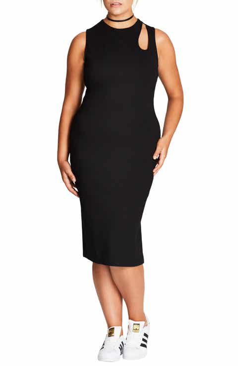 Plus-Size Little Black Dresses | Nordstrom