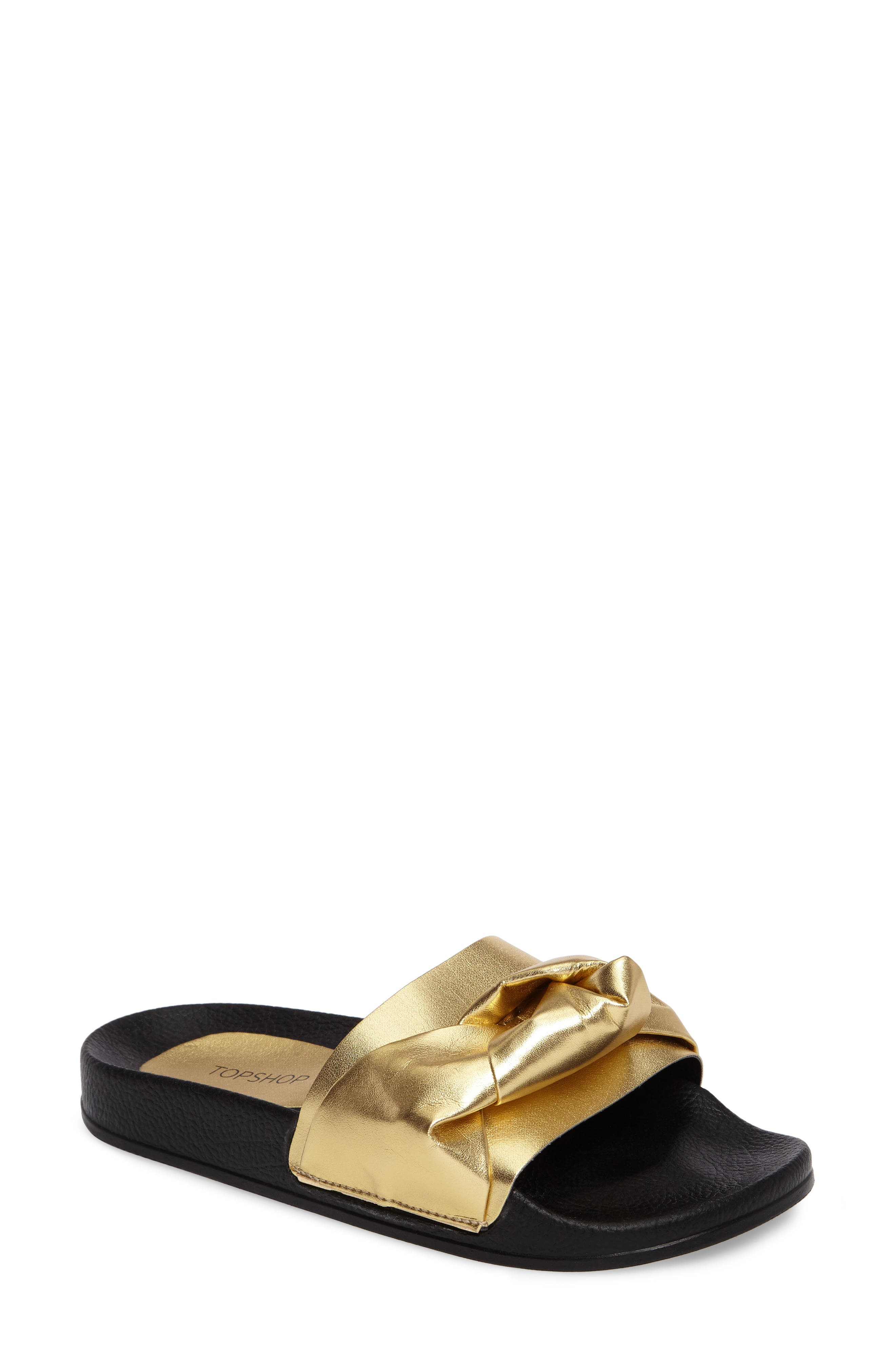 Topshop Hoopla Slide Sandal (Women)