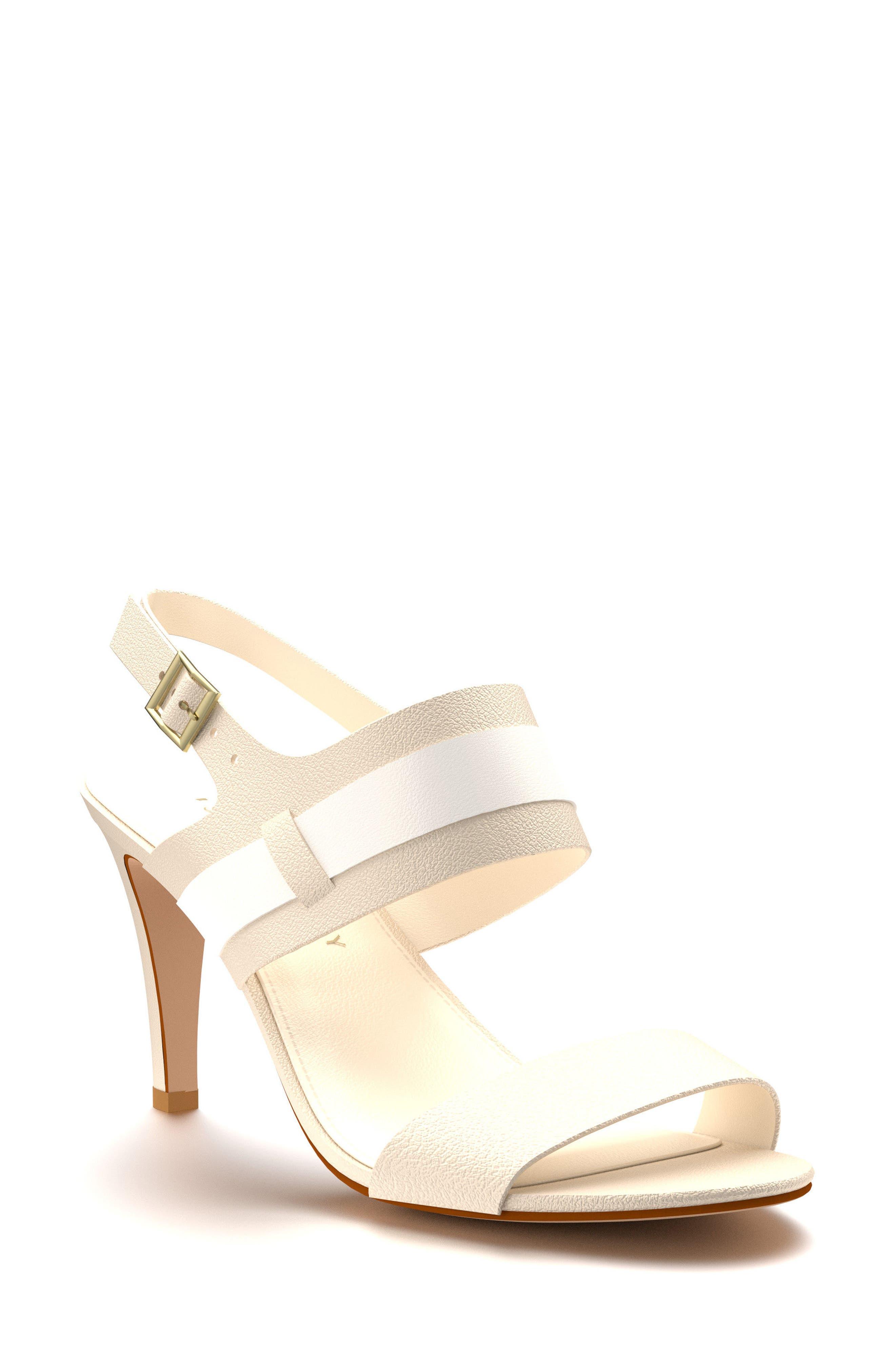 Shoes of Prey Strappy Slingback Sandal (Women)
