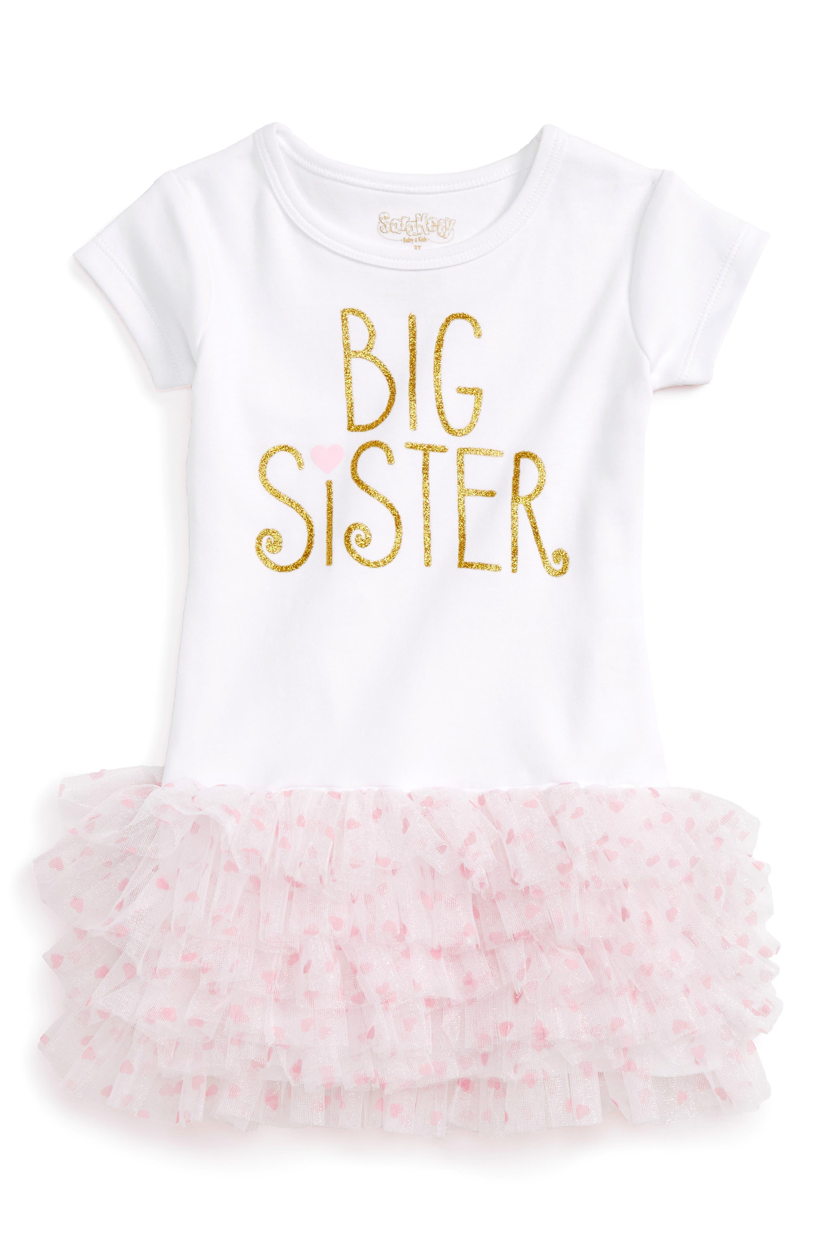 Sara Kety Baby & Kids Big Sister Tutu Dress (Toddler Girls)