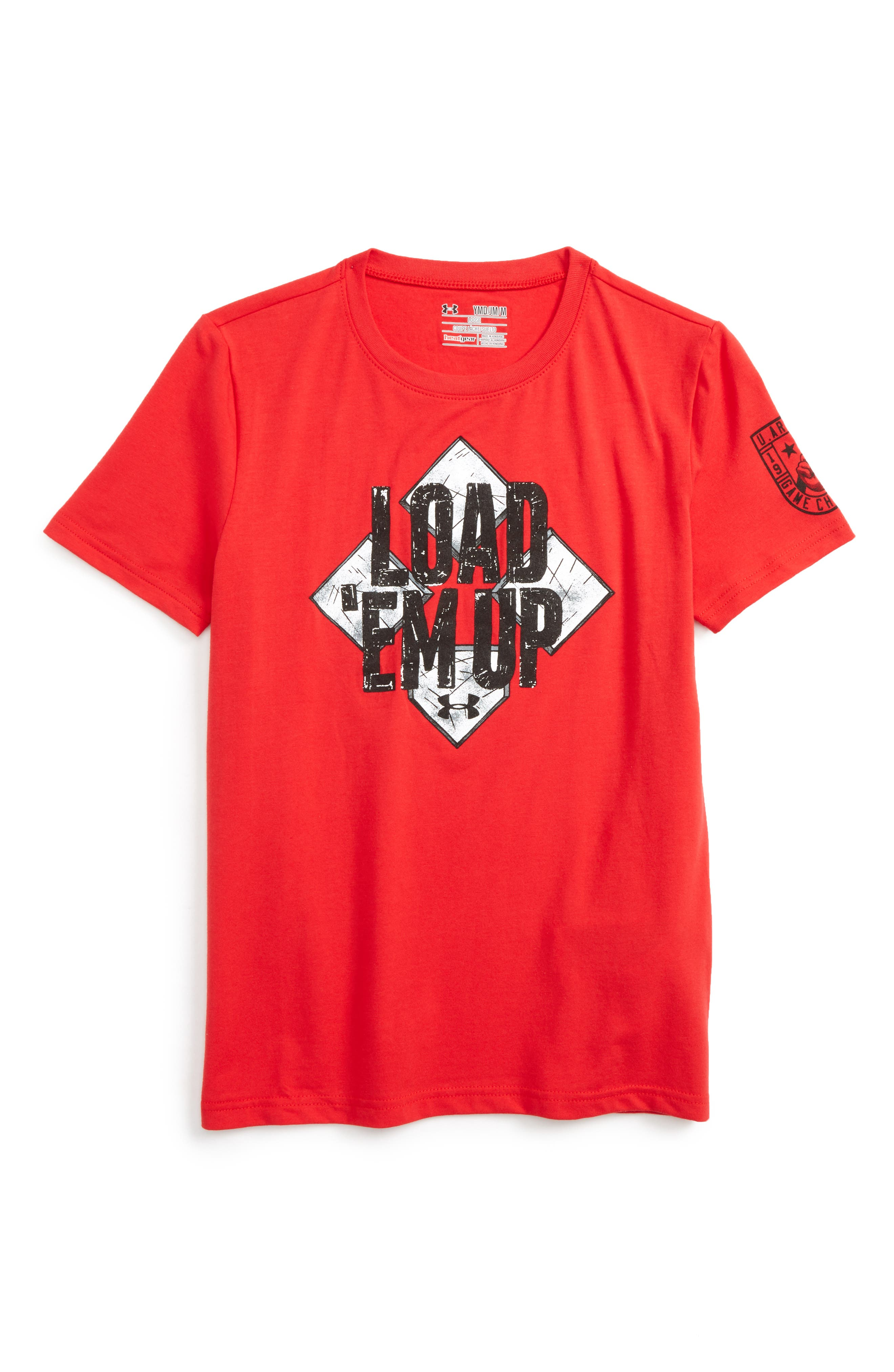 Under Armour Bases Loaded HeatGear® T-Shirt (Little Boys & Big Boys)