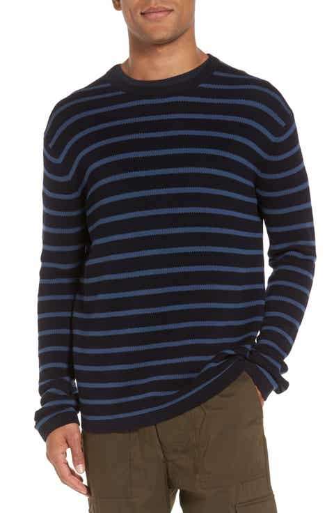 Vince Reverse Tuck Stitch Stripe Sweater