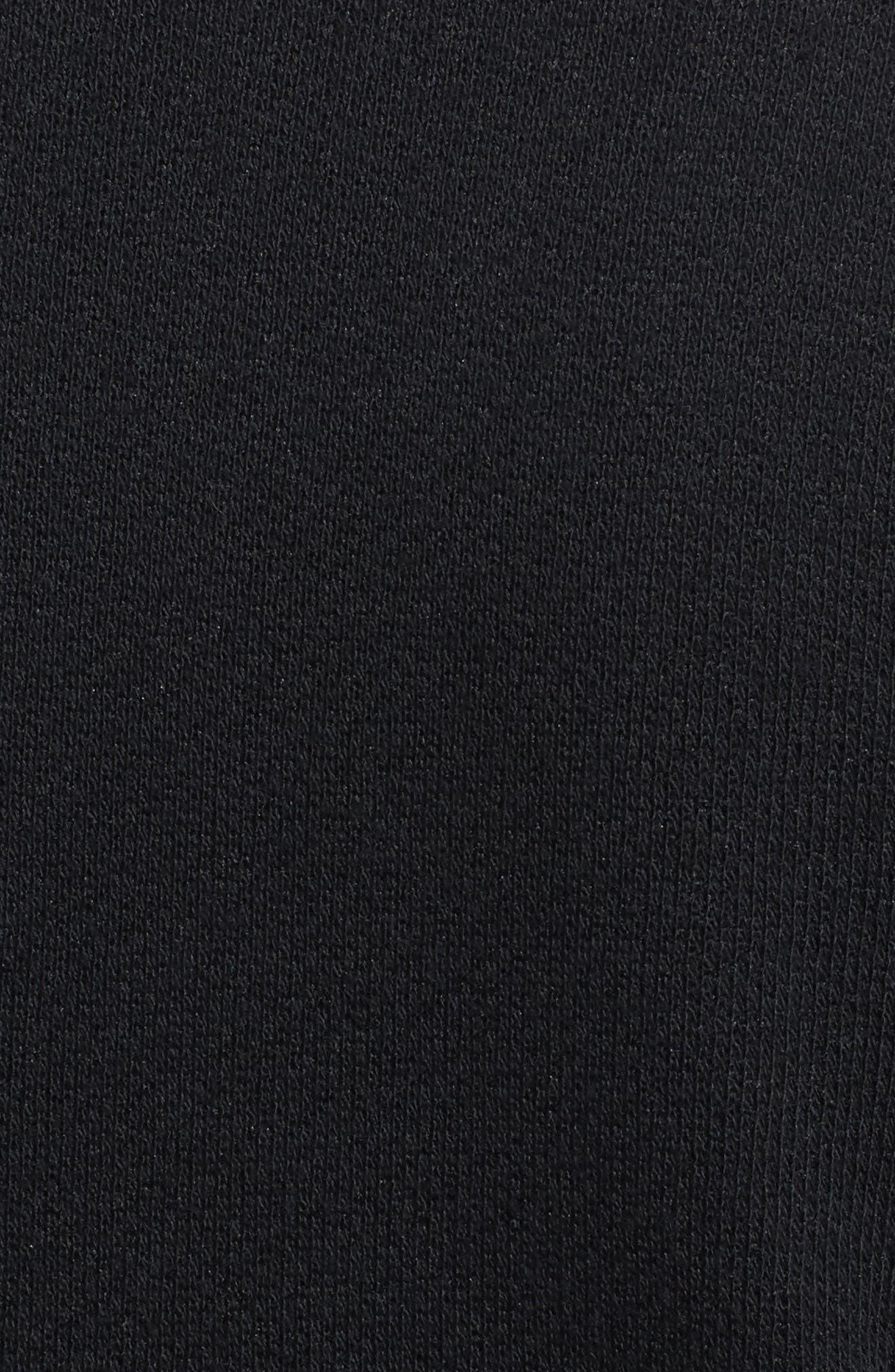 Alternate Image 5  - Olivia Moon Elbow Patch Knit Blazer (Regular & Petite)