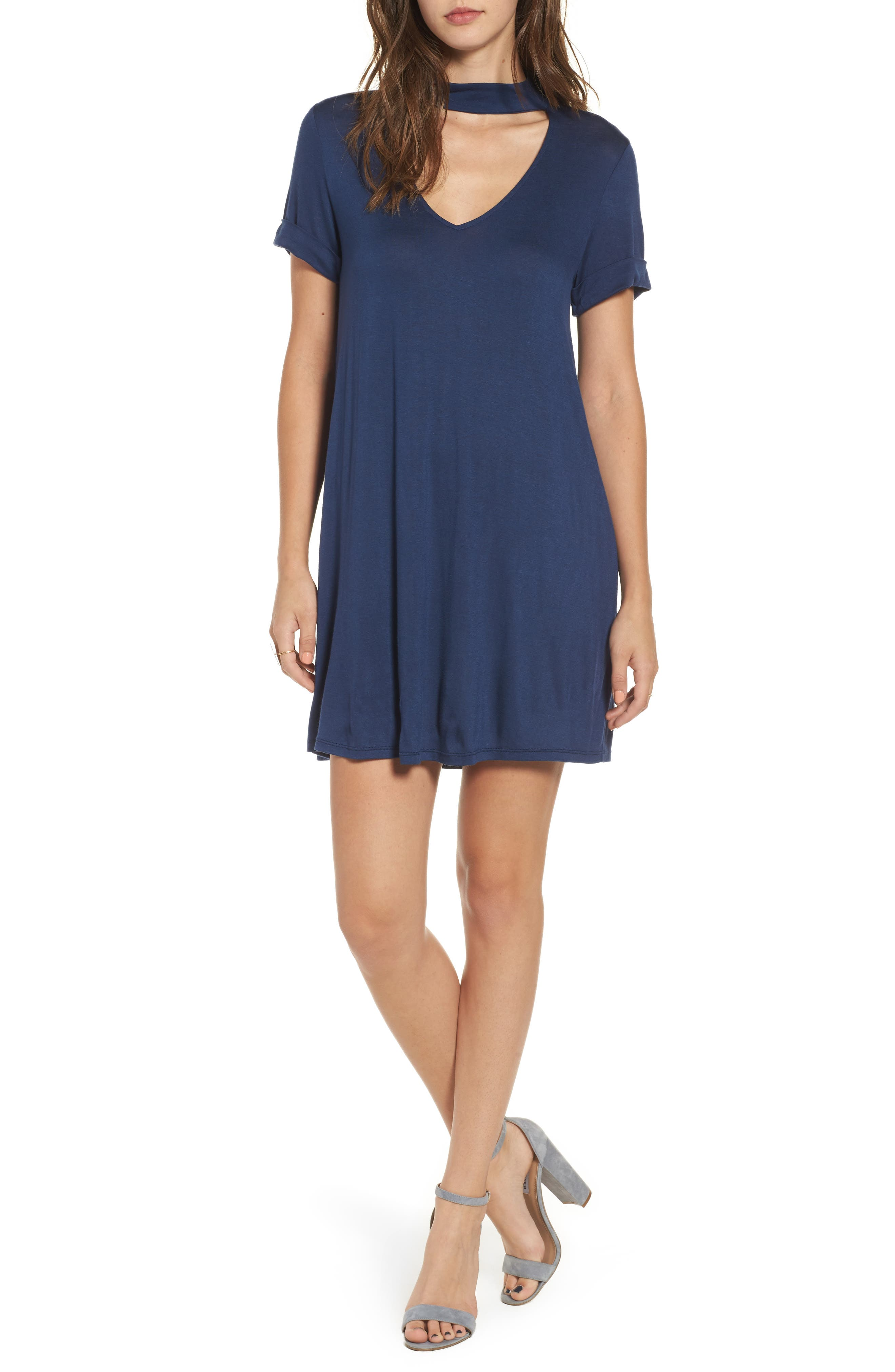 Everly Choker T-Shirt Dress