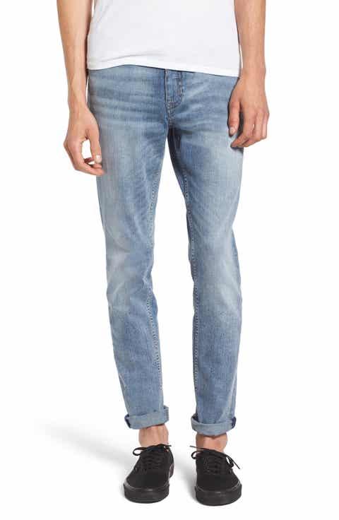 Cheap Monday Sonic Skinny Fit Jeans (Treble Blue)