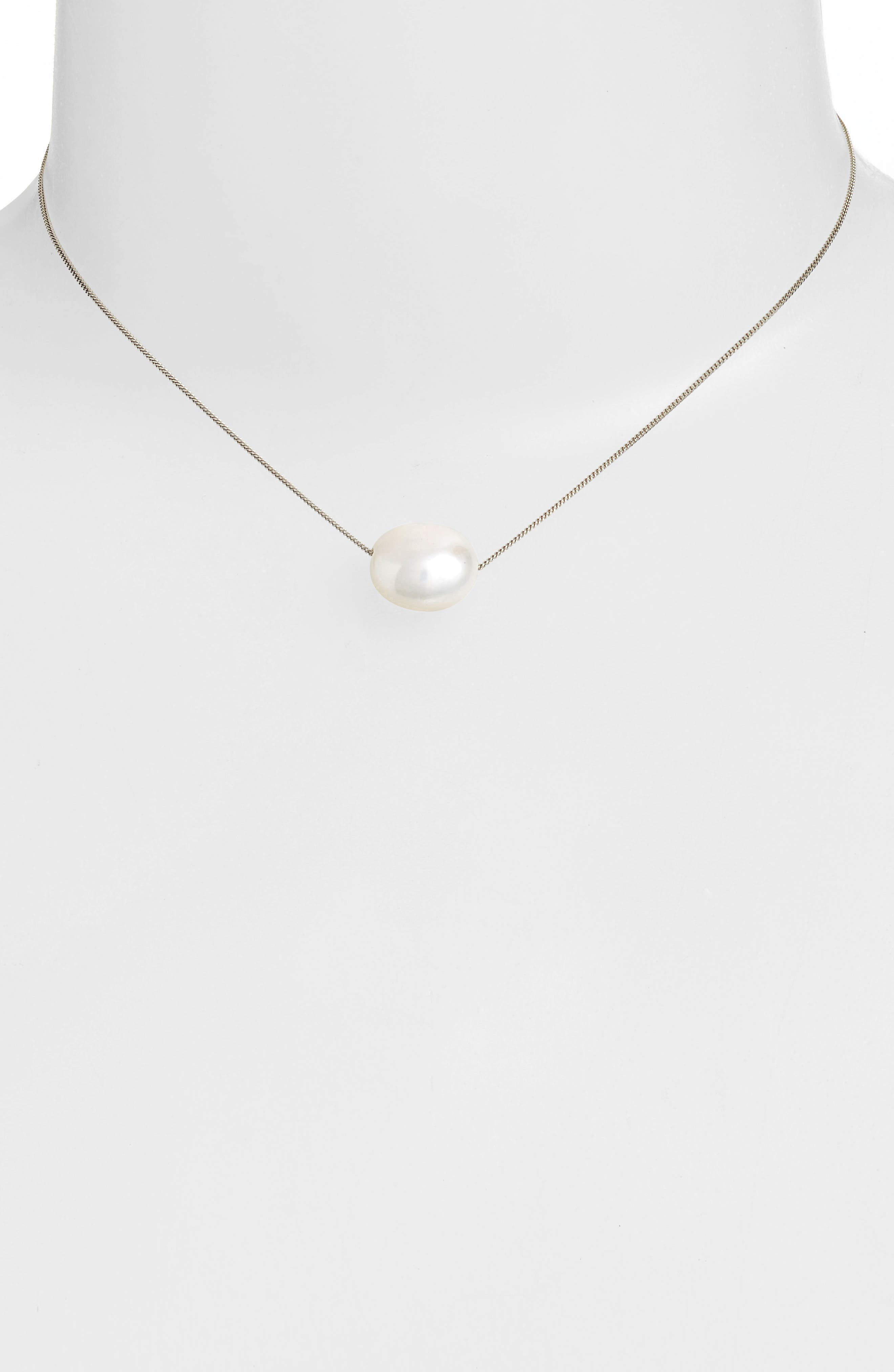 Alternate Image 2  - Chan Luu Short Pearl Pendant Necklace