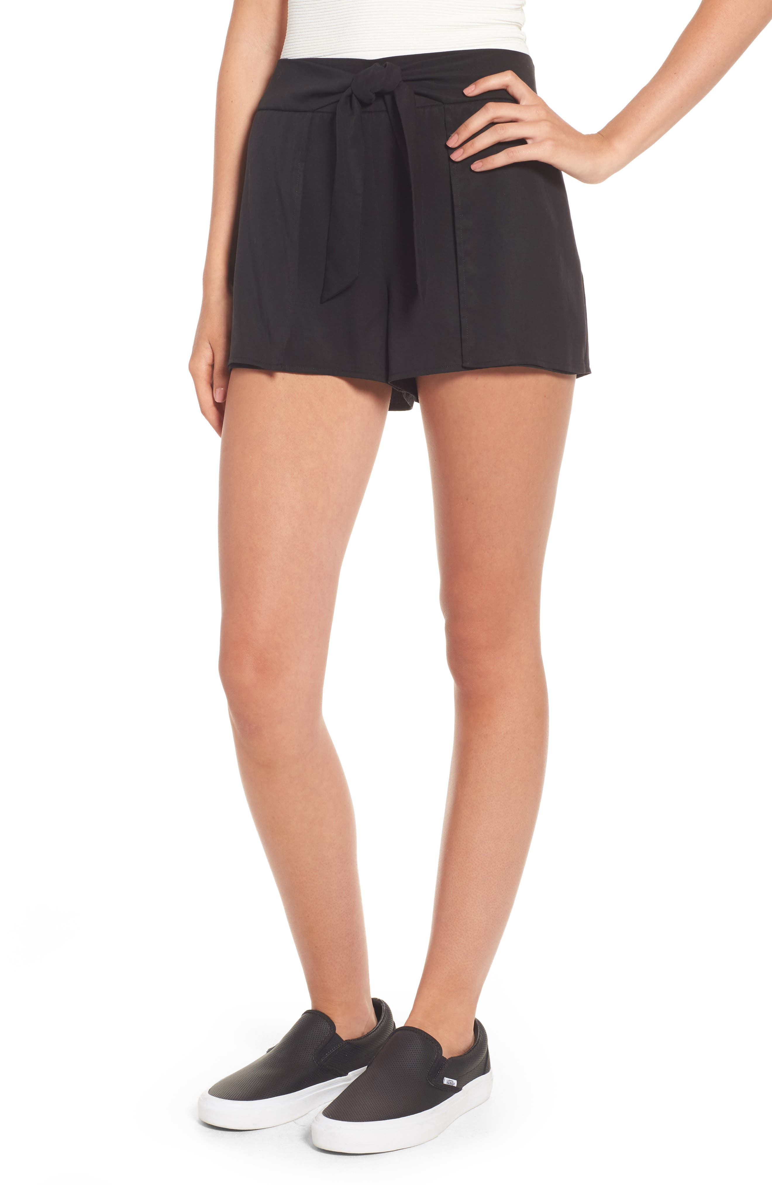 Socialite Tie Waist Shorts