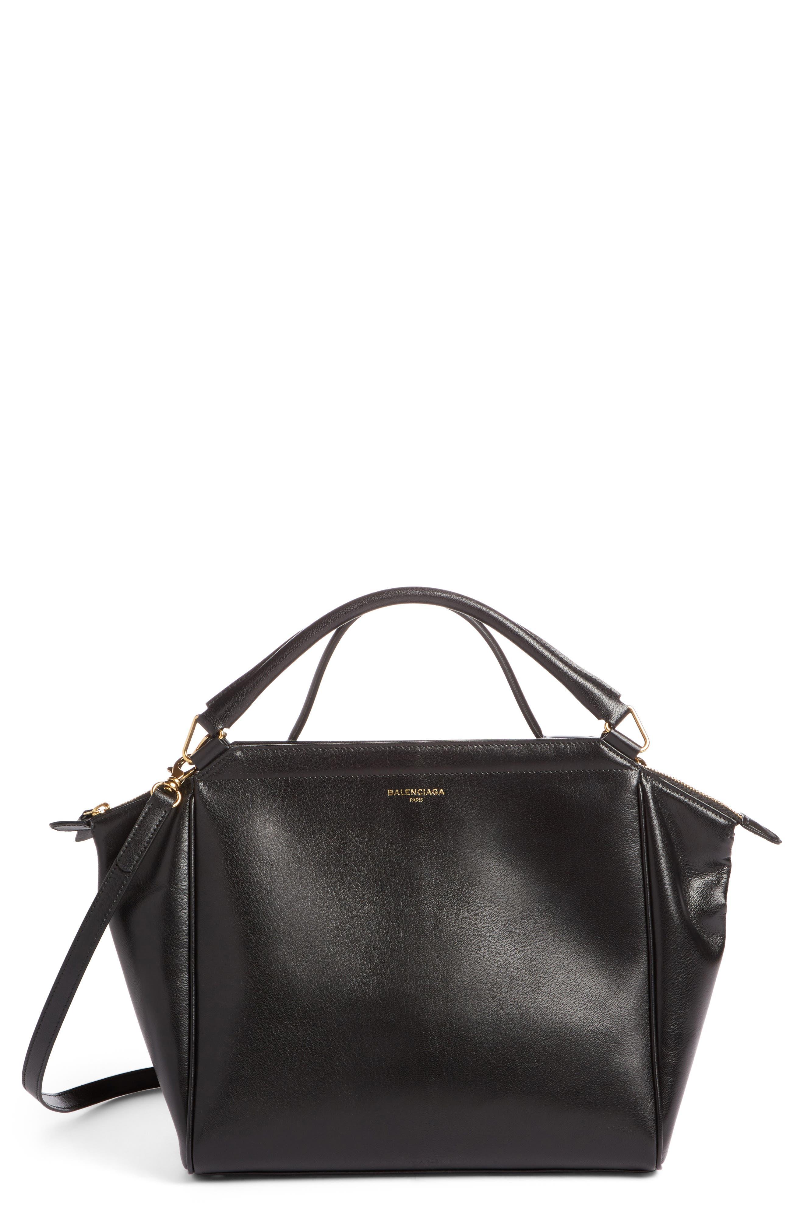 Balenciaga Collage Double Calfskin Leather Bag