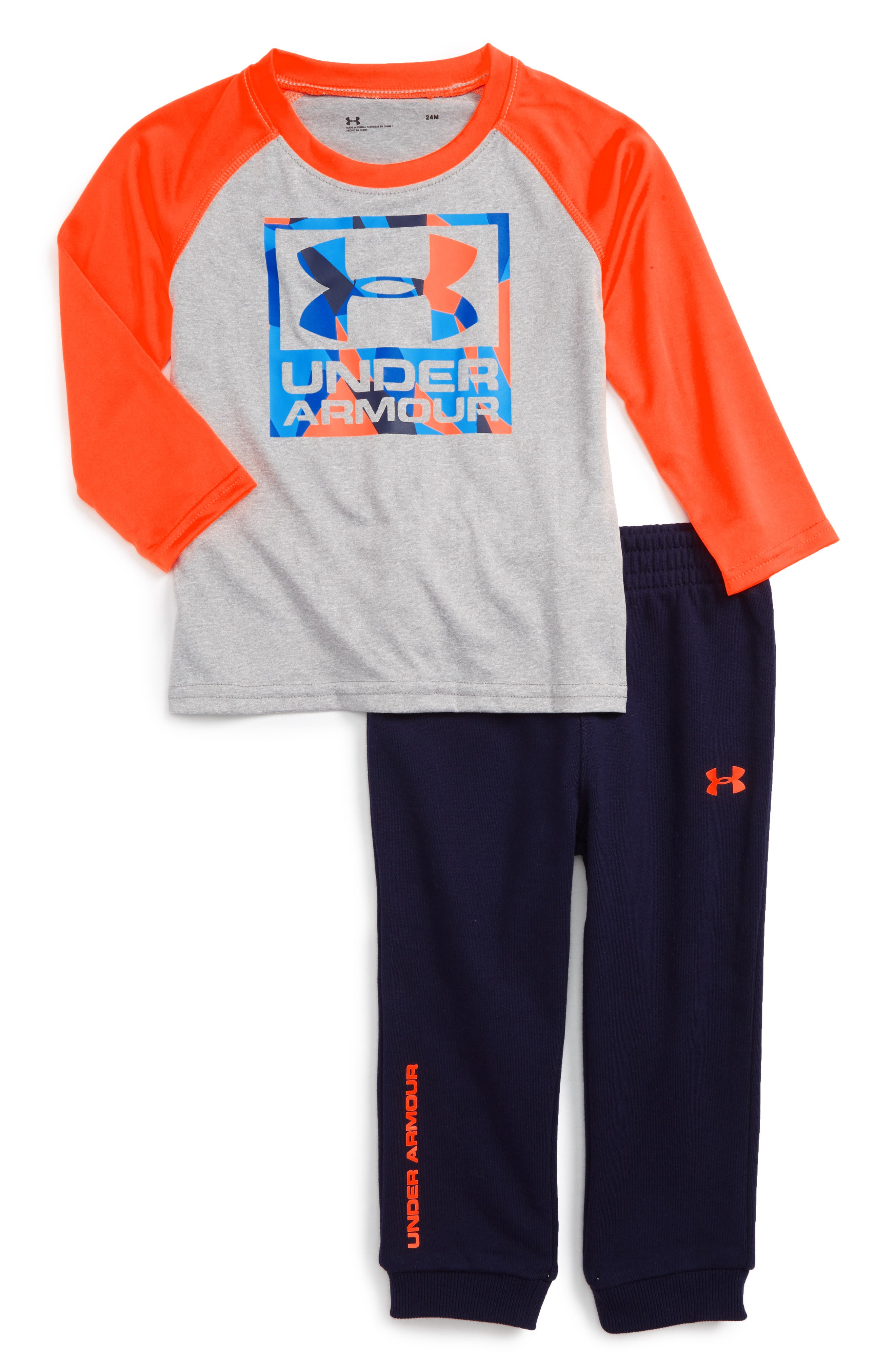 Under Armour Graphic T-Shirt & Track Pants Set (Baby Boys)