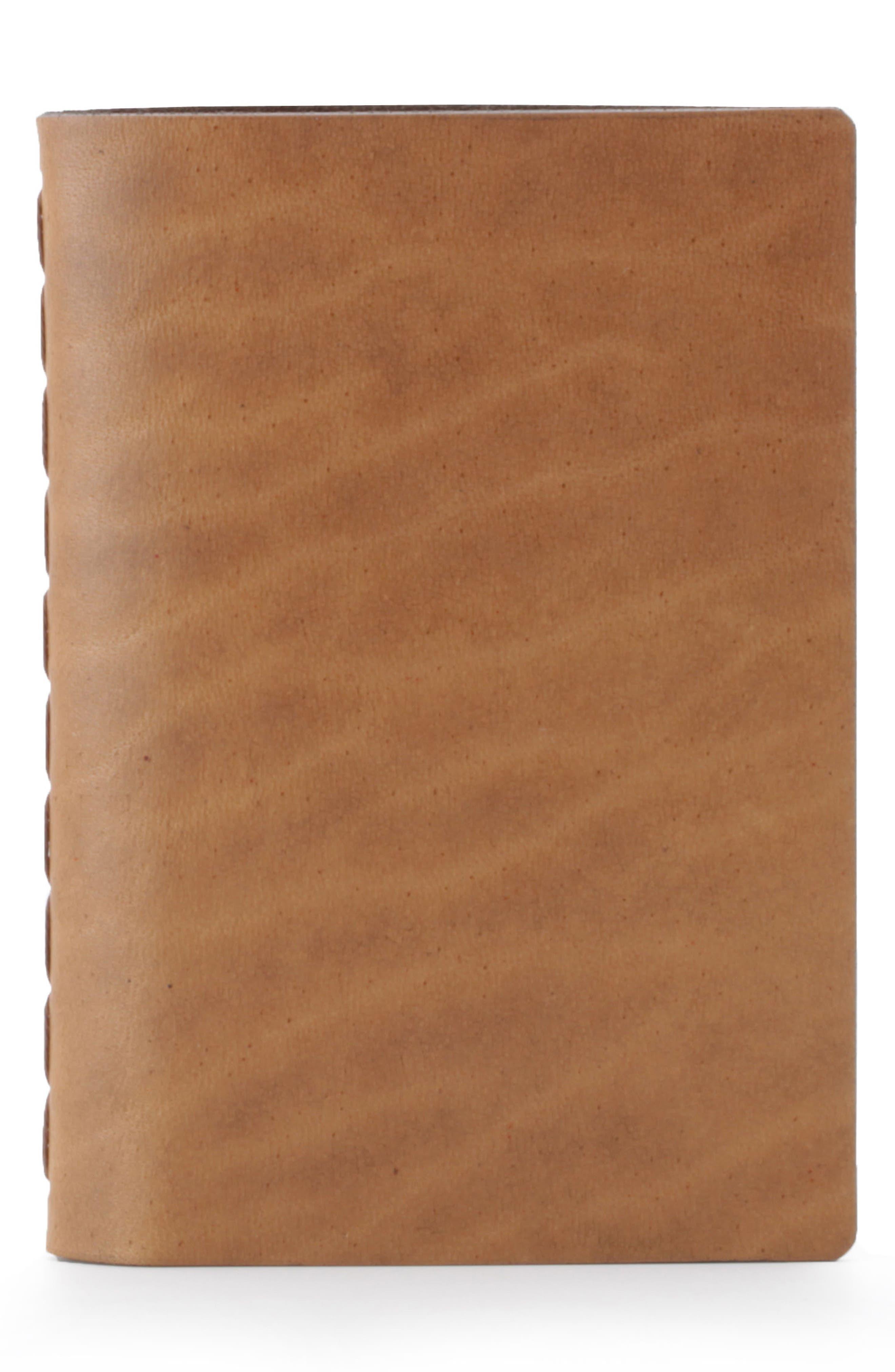 Ezra Arthur Small Leather Notebook