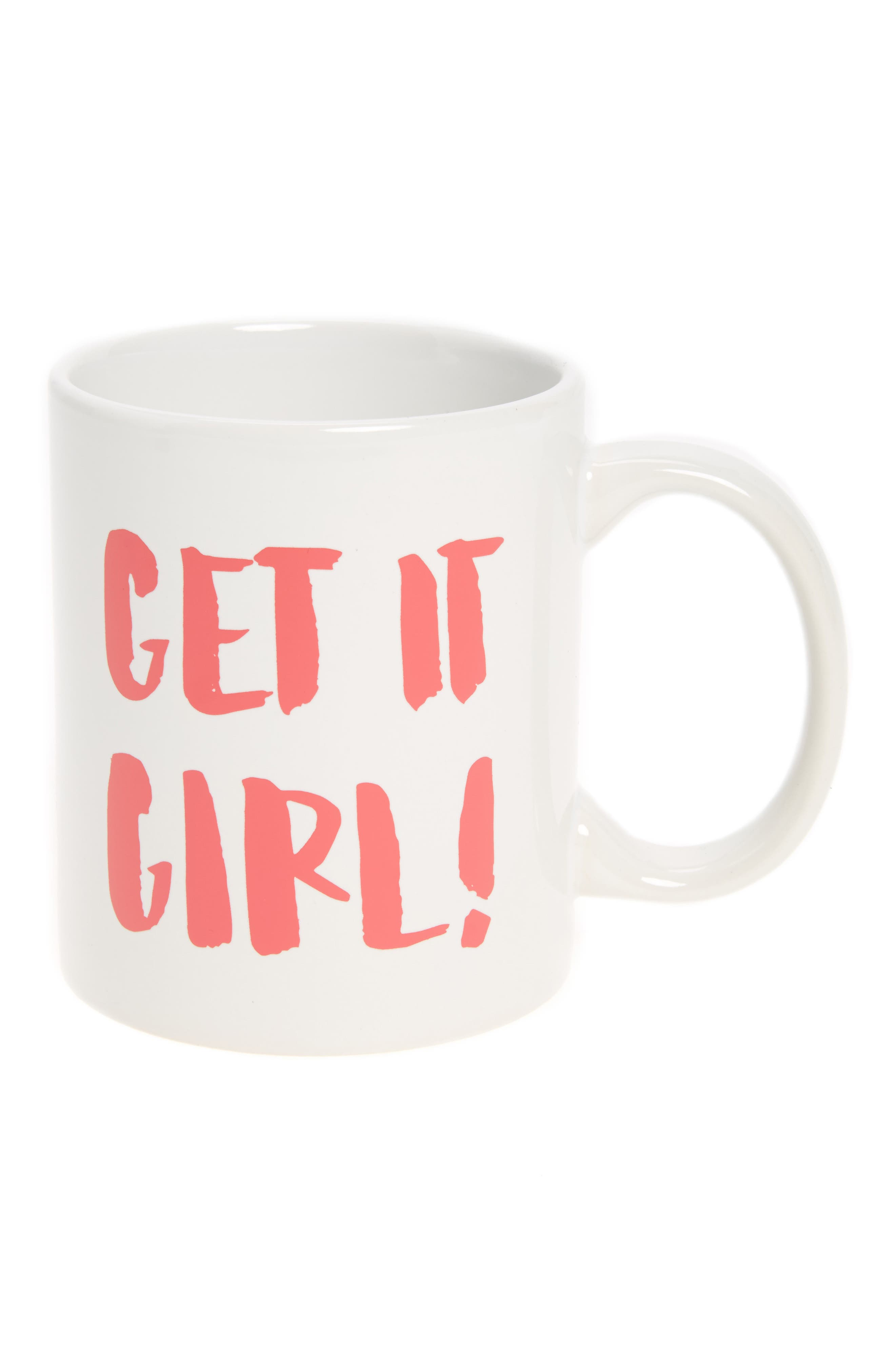 The Created Co. Get It Girl Ceramic Mug