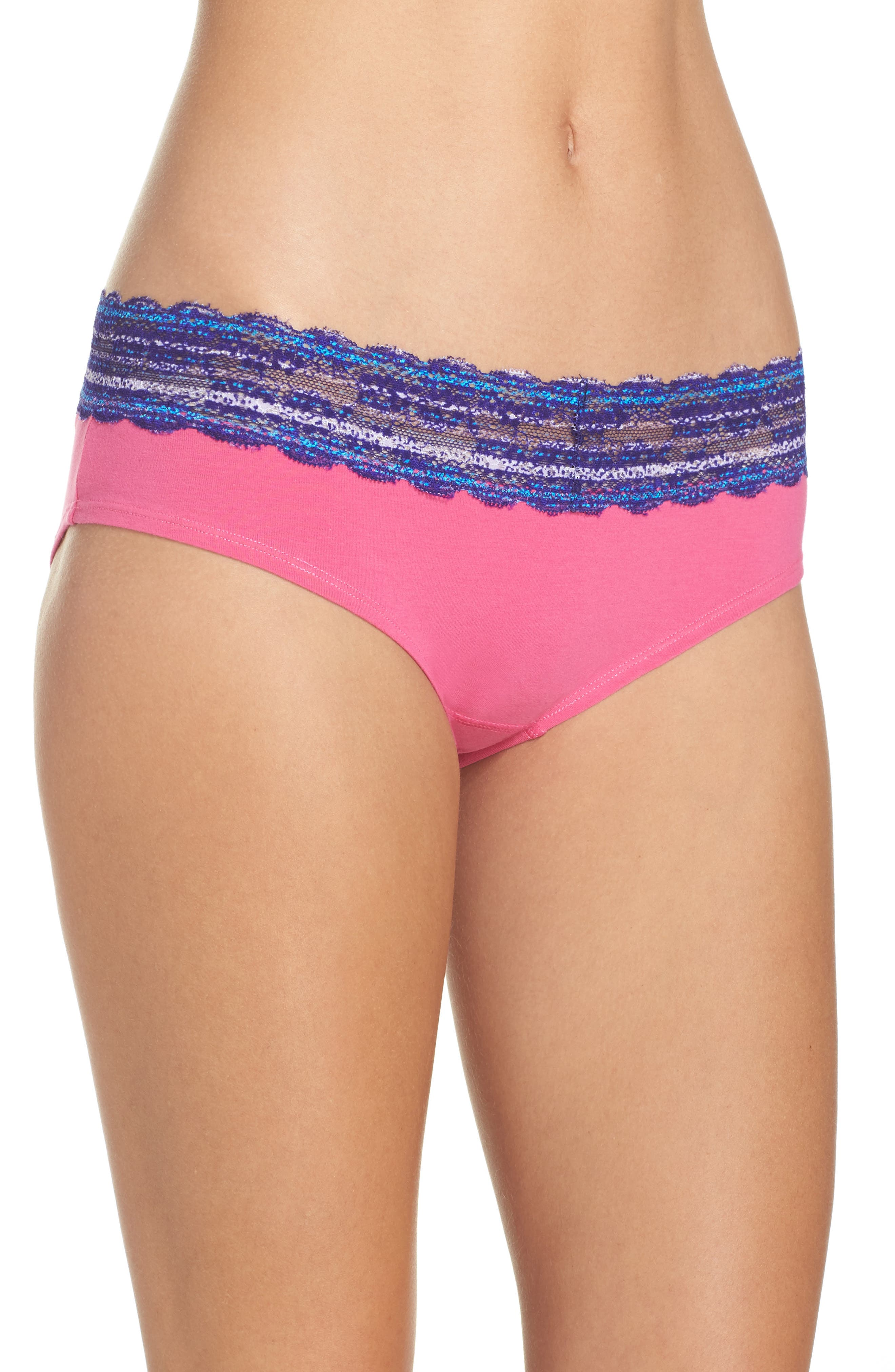 Main Image - h.dew 'Becca' Hipster Briefs (Regular & Plus Size) (5 for $30)