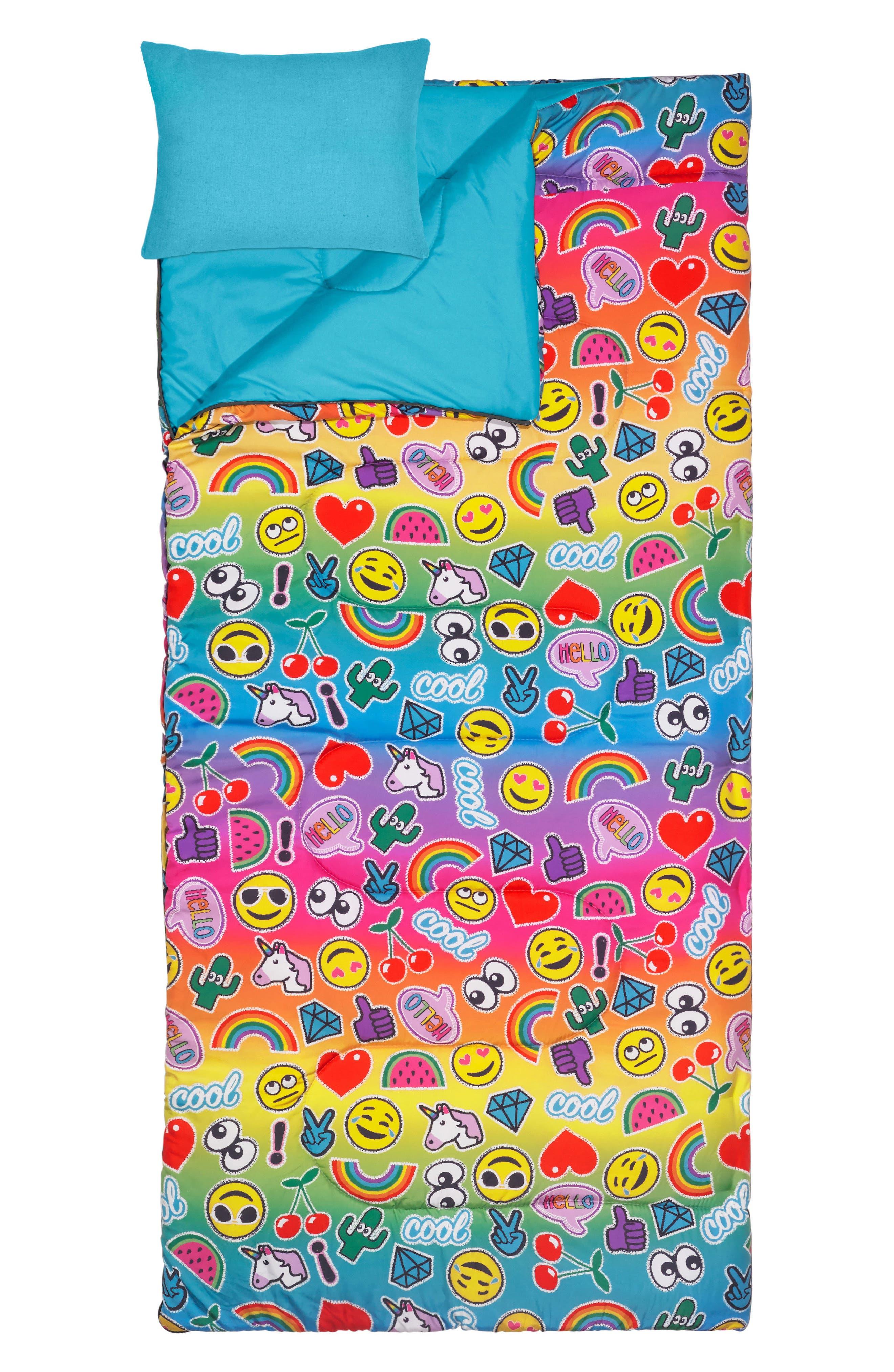 3C4G Emoji Patch Sleeping Bag Set (Kids)