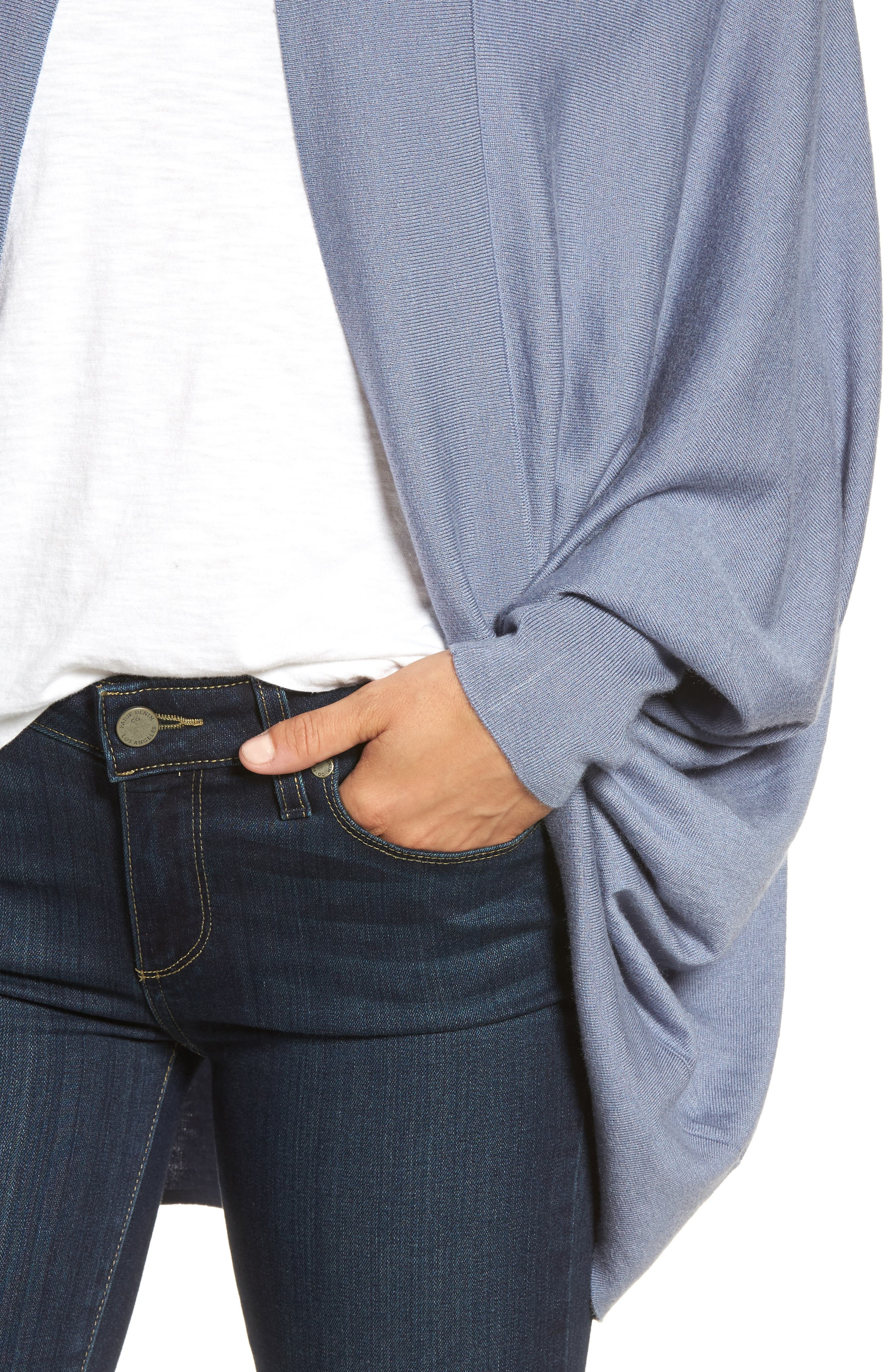 Alternate Image 4  - Nordstrom Knit Cocoon Cardigan