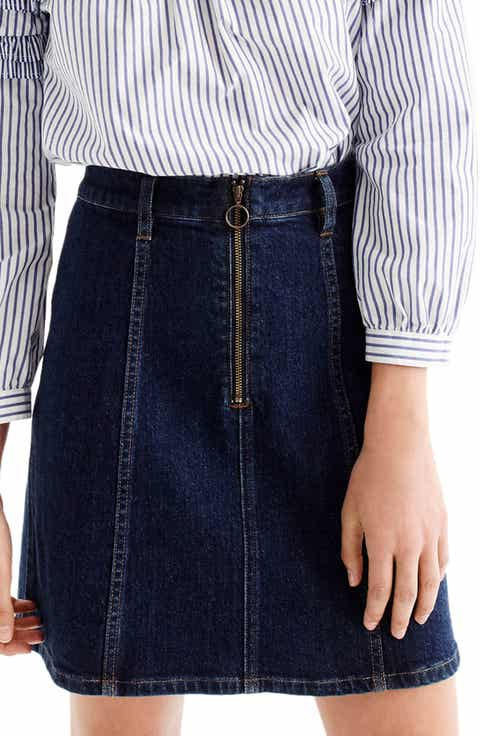 Women's Short Denim Skirts | Nordstrom