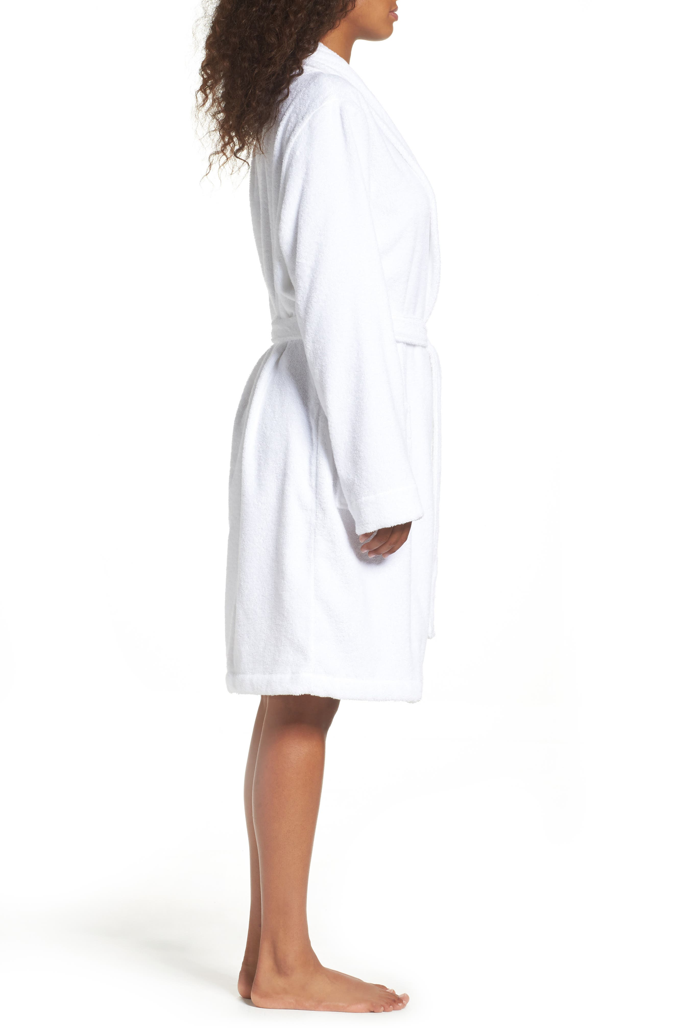 Alternate Image 3  - Nordstrom Lingerie Terry Robe