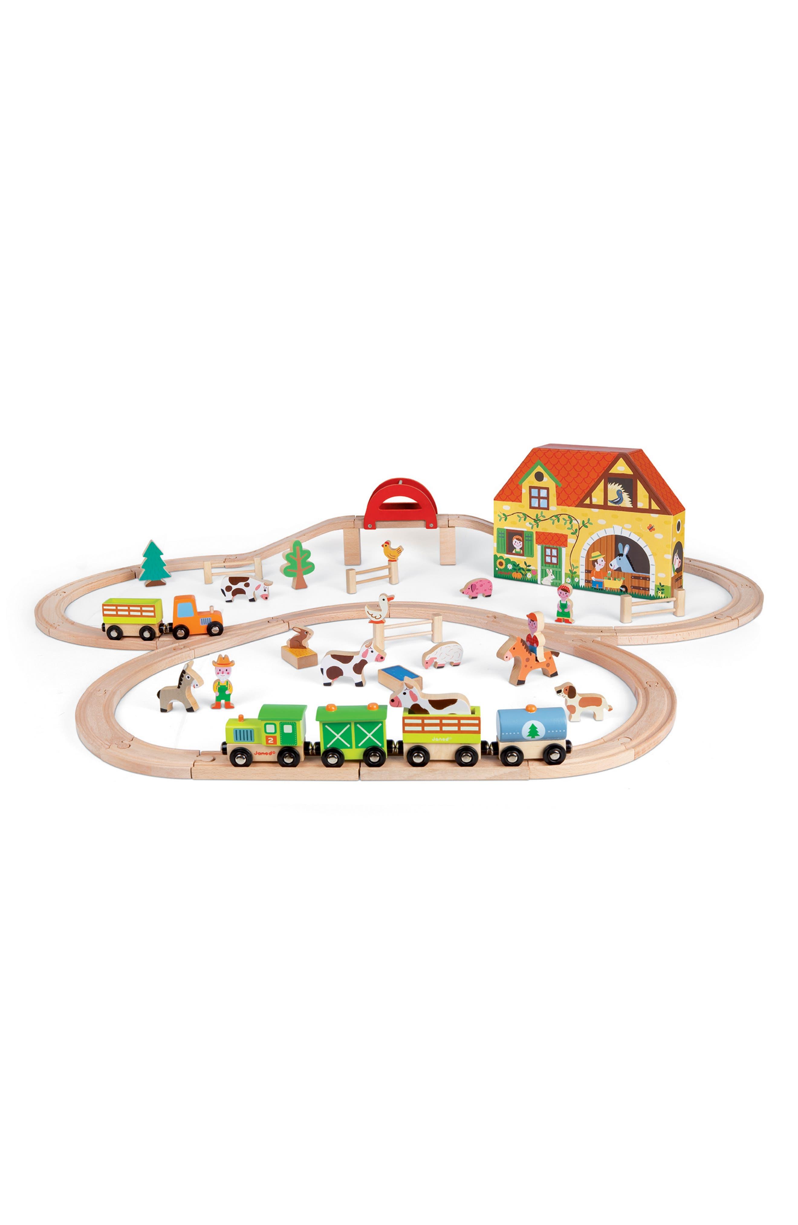 Janod 'Story Express - Farm' Train Set