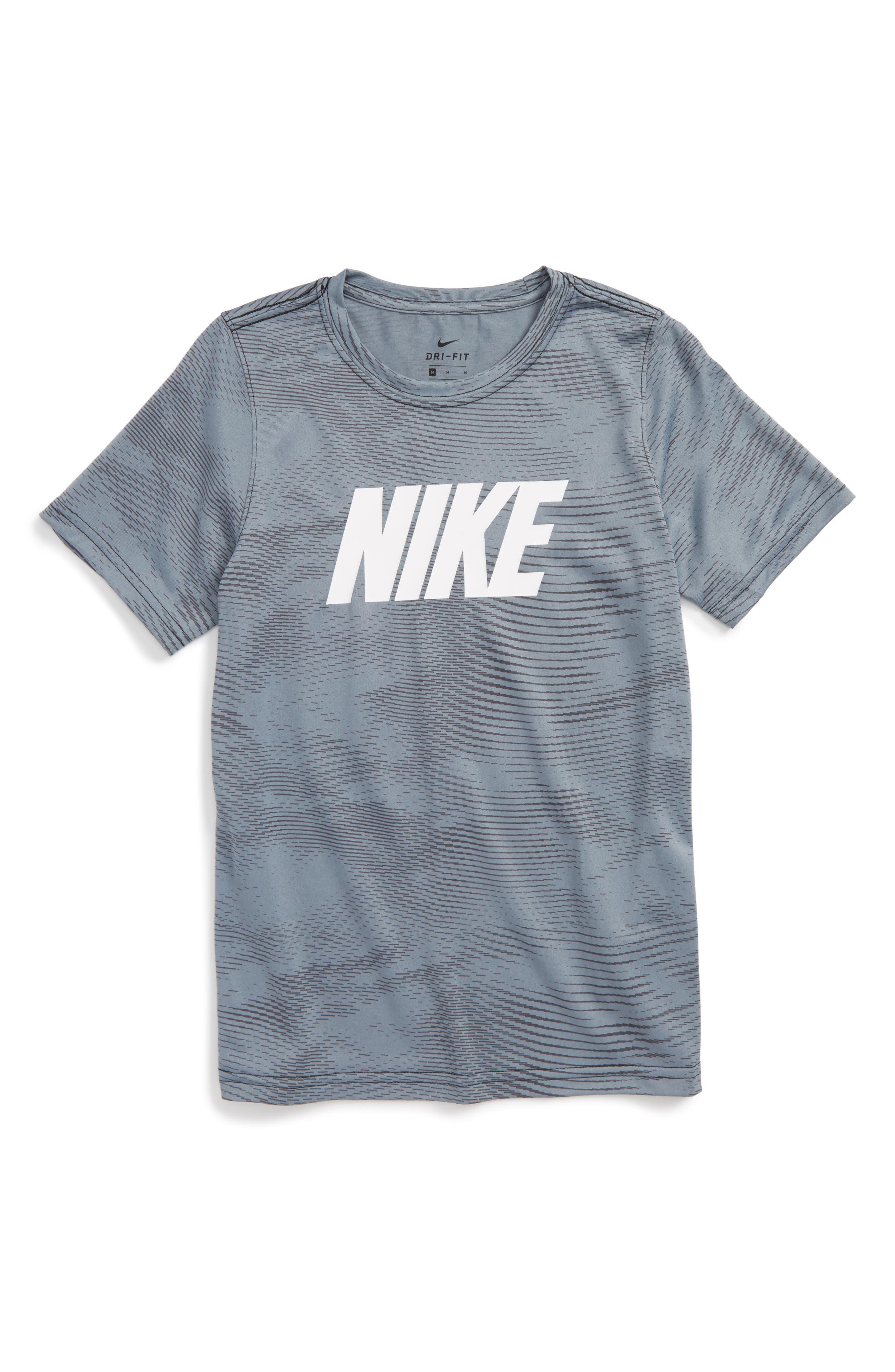 Nike Dry Graphic T-Shirt (Little Boys & Big Boys) (Regular Retail Price: $25.00)