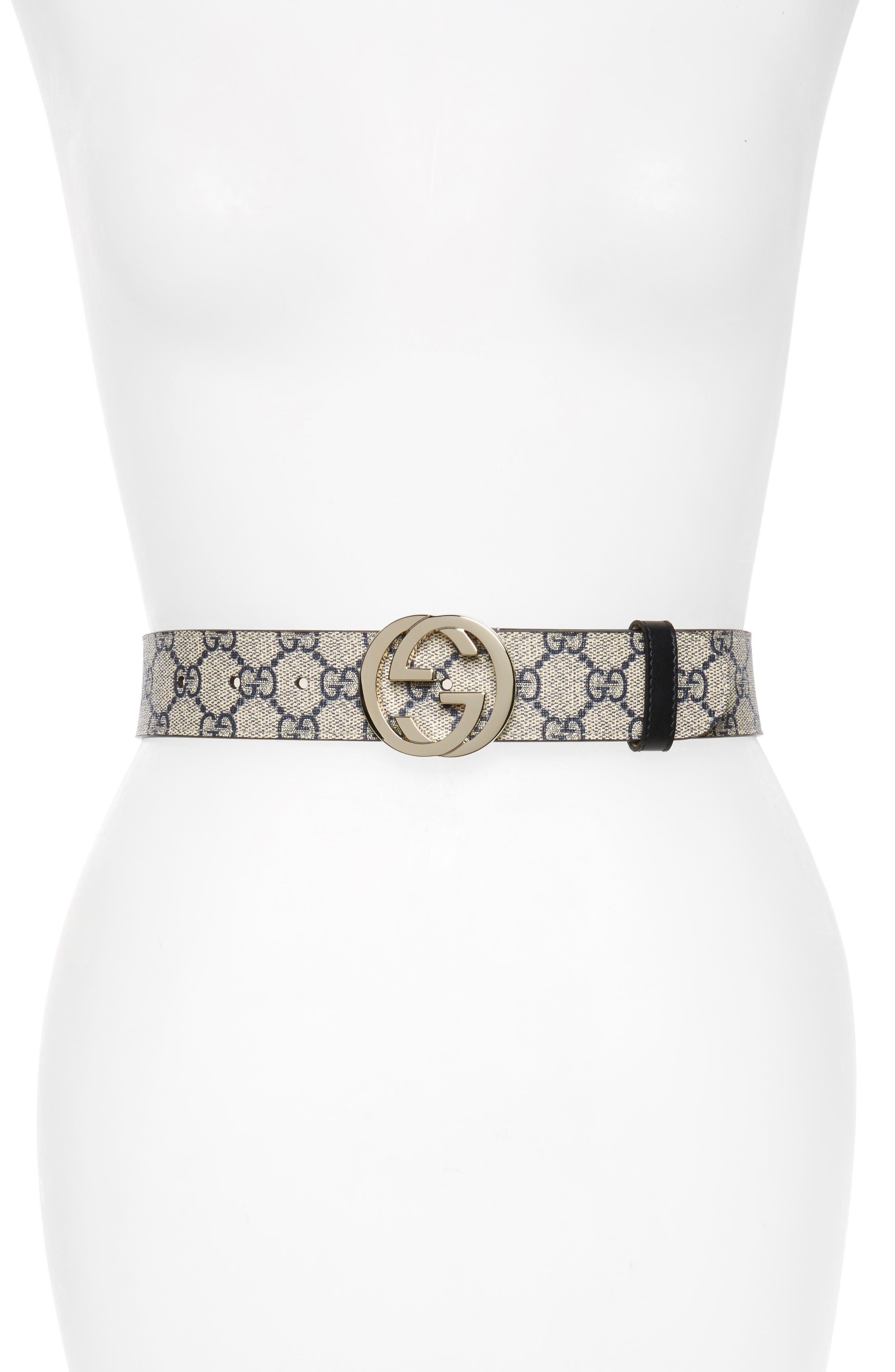 Gucci Logo Buckle Belt