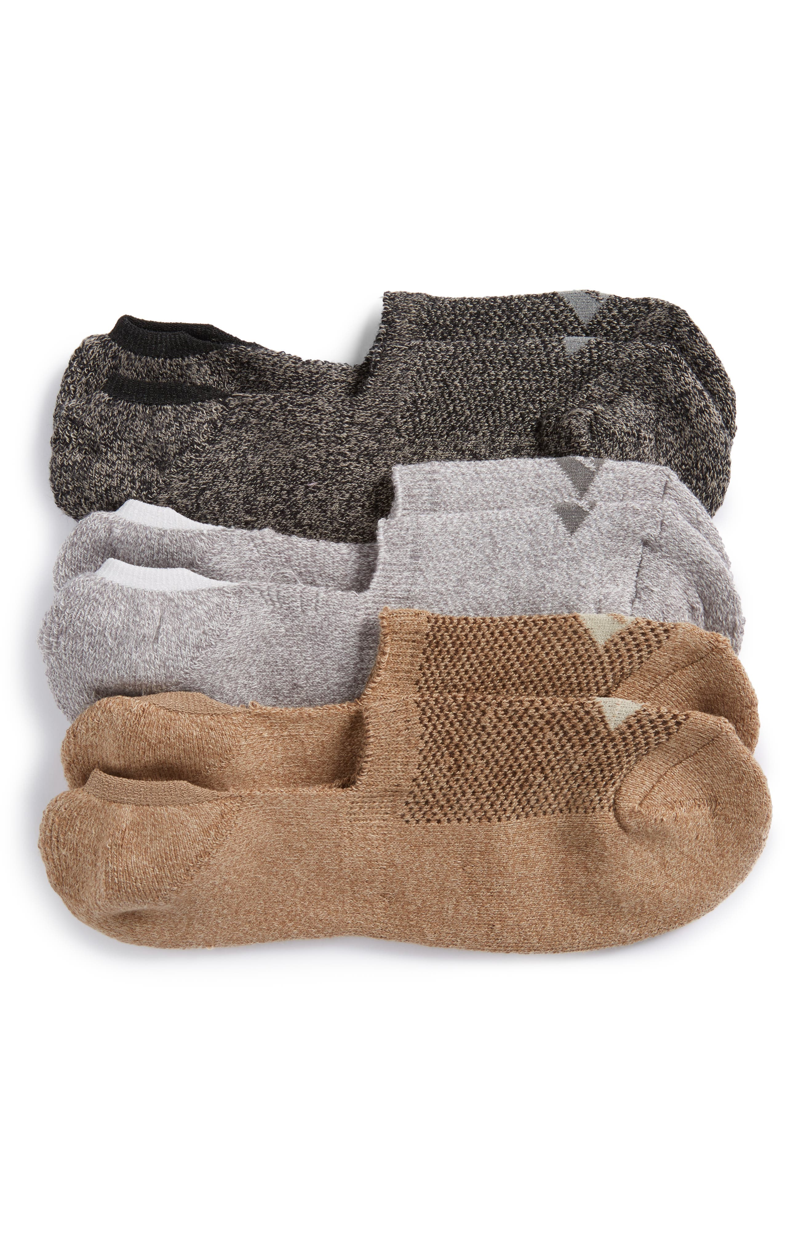 Sperry 3-Pack No-Show Liner Socks