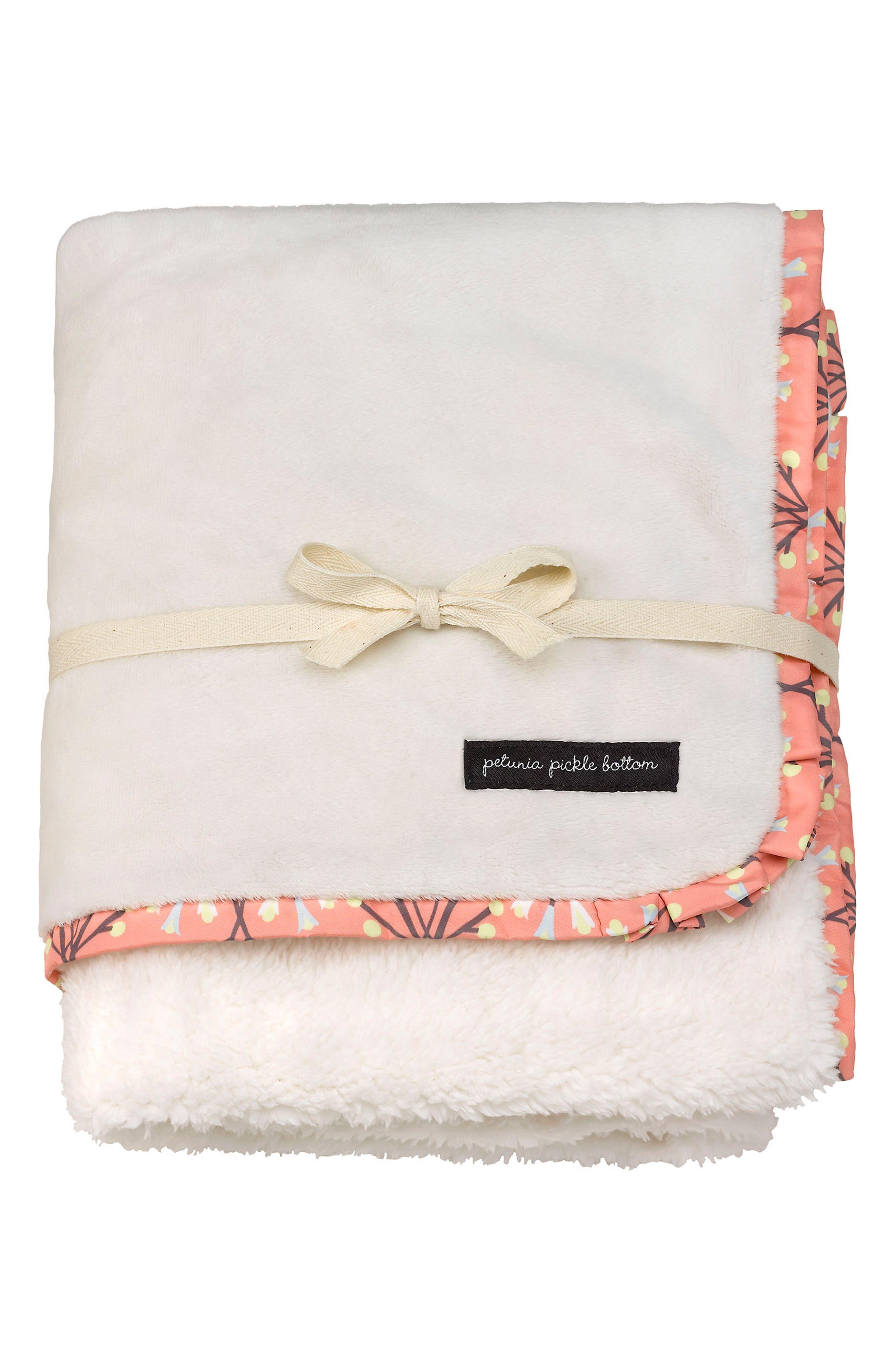 Petunia Pickle Bottom Receiving Blanket