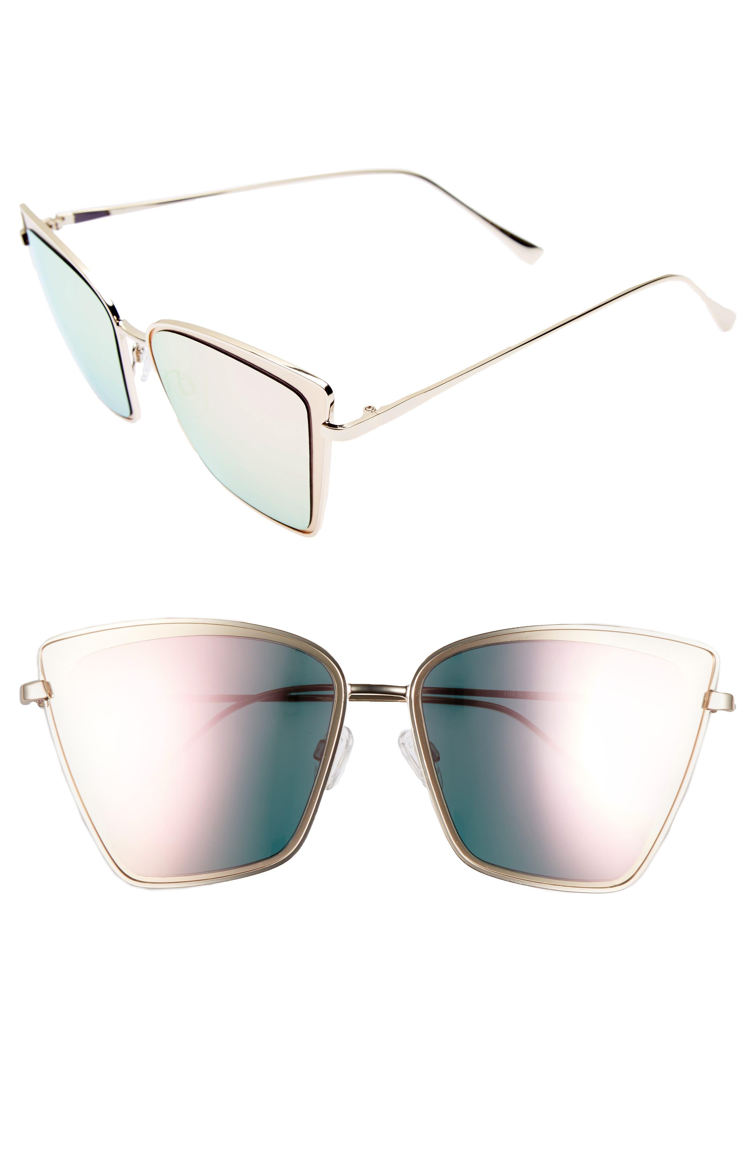 Leith 64mm Cat Eye Sunglasses