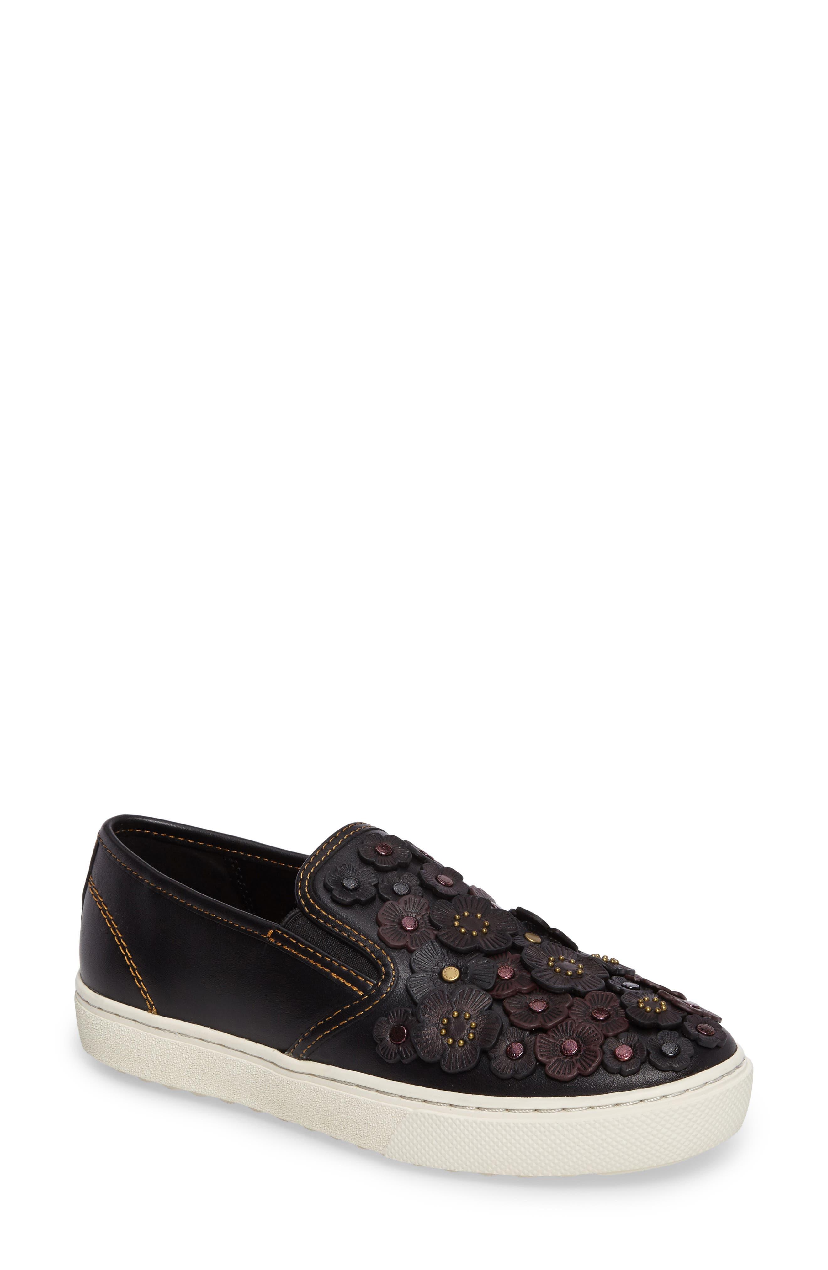 COACH Tea Rose Slip-On Sneaker (Women)